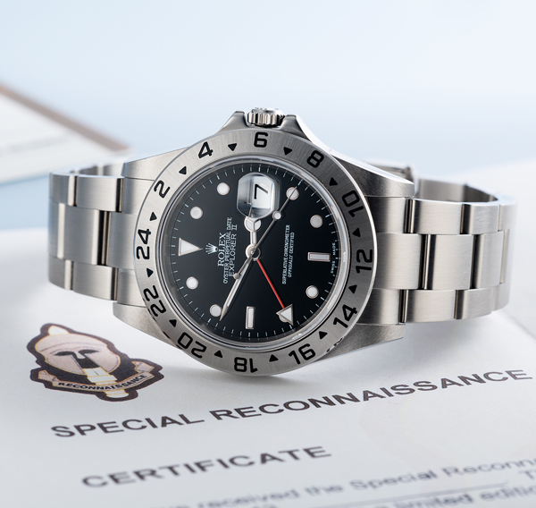 Rolex's military secret… The SRR Explorer II