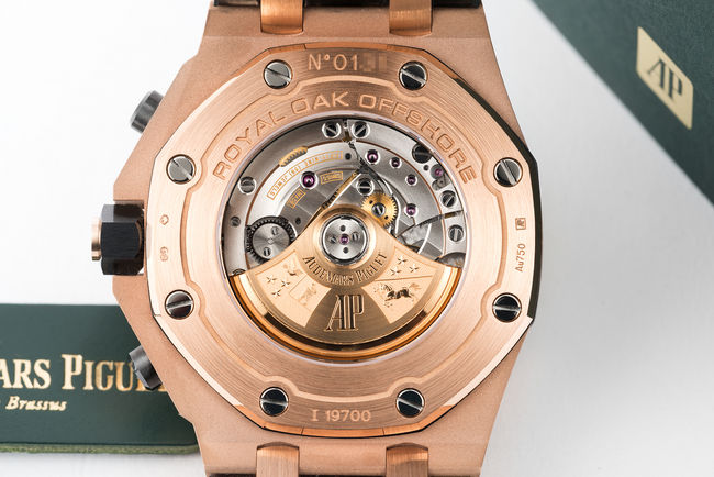Audemars piguet watches the watch club for Royal oak offshore rose gold 42mm