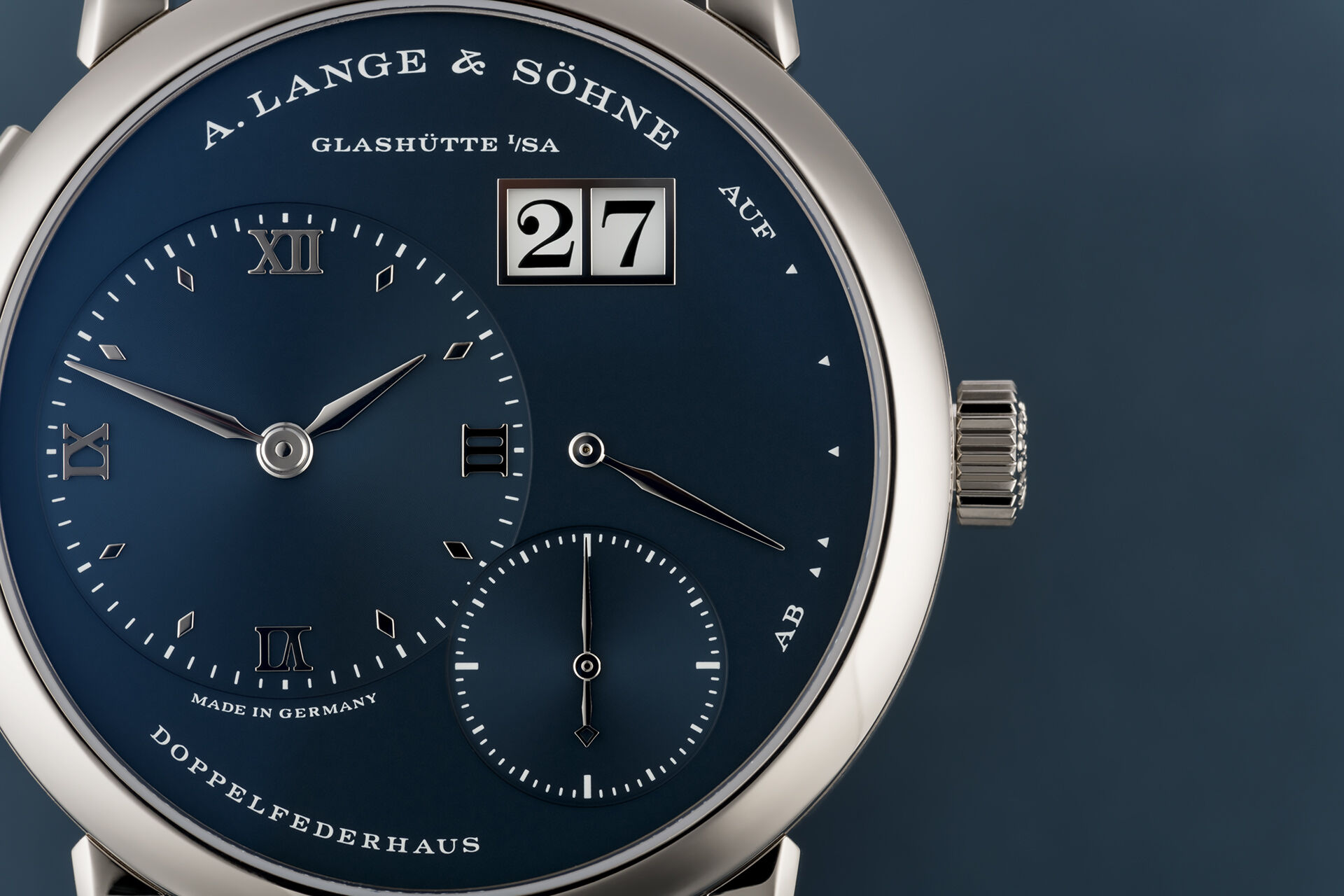 ref 191.028 | Only Made For 1 Year  | A. Lange & Söhne Lange 1