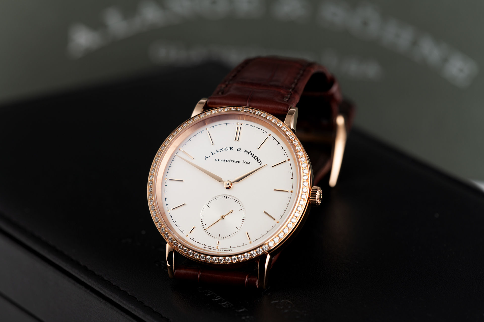 "38.5mm Diamond Bezel ""Full Set"" 