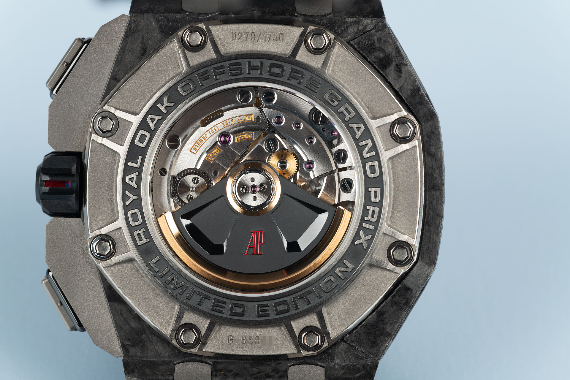 "Limited Edition ""Forged Carbon"" 