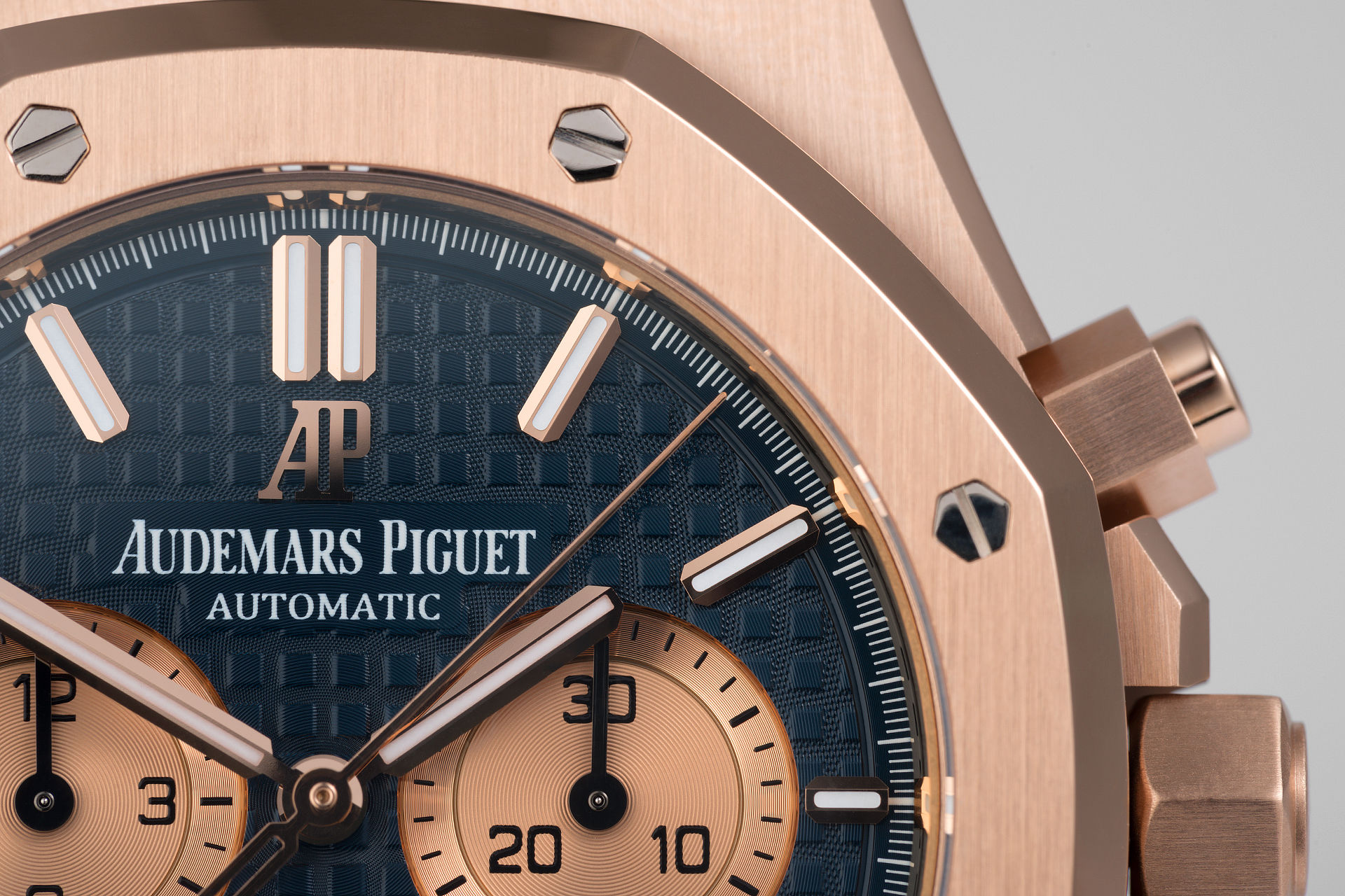 ref 26331OR.OO.1220OR.01 | 18ct Rose Gold 'Under AP Warranty' | Audemars Piguet Royal Oak Chronograph
