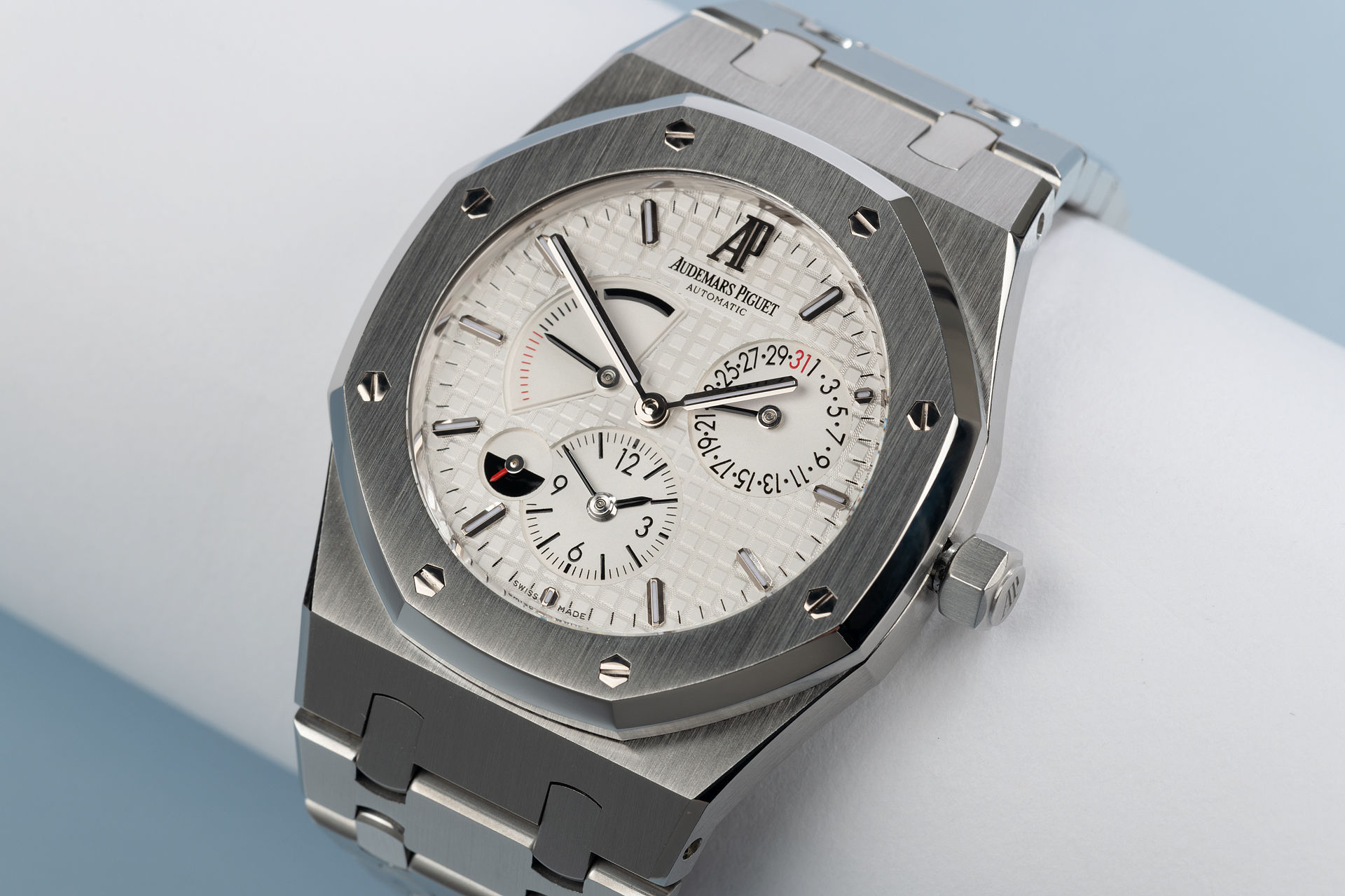 ref 26120ST.OO.1220ST.01 | 39mm 'Full Set' | Audemars Piguet Royal Oak Dual Time