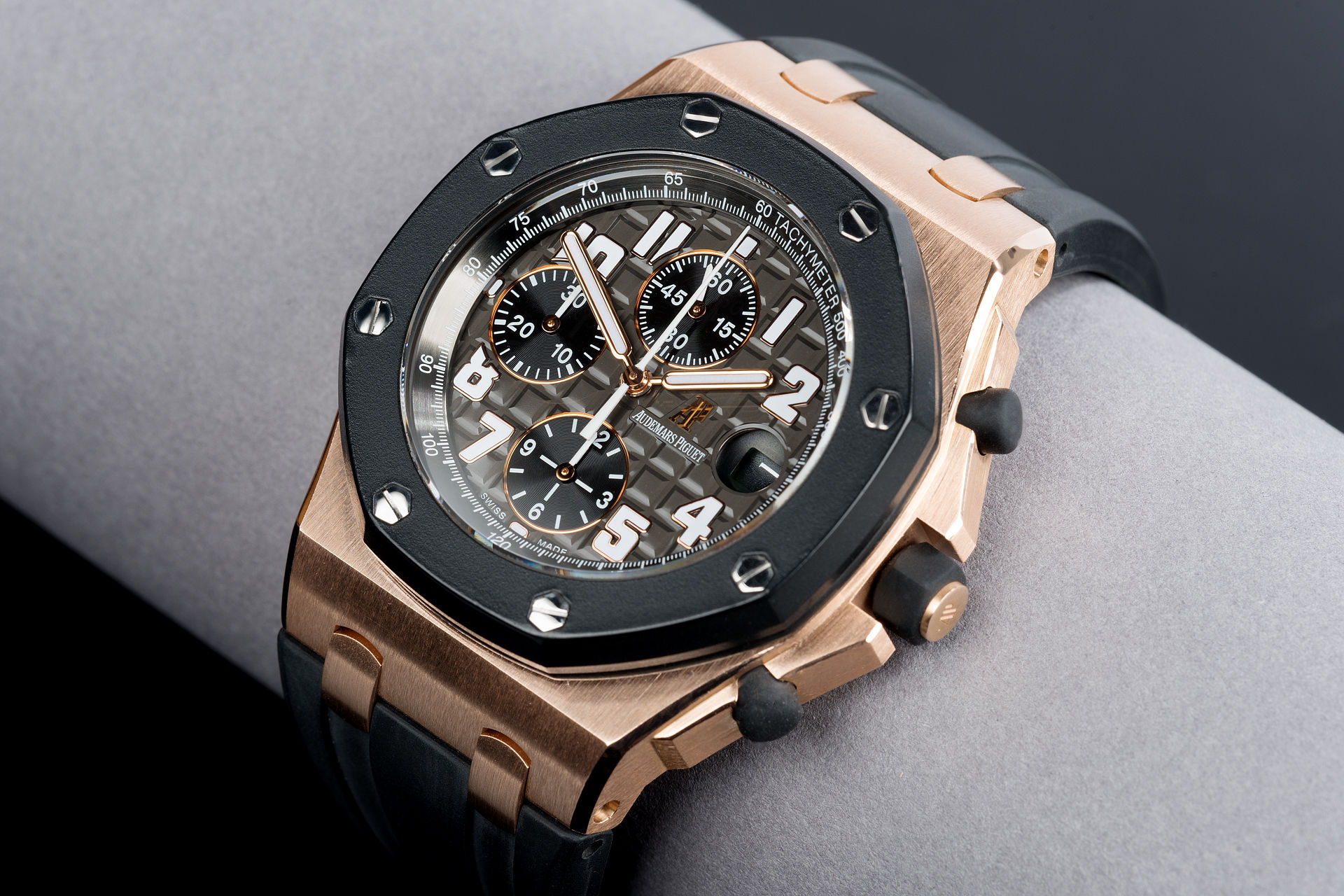 ref 25940OK.OO.D002CA.02 | 42mm 'Full Set' Rubber-Clad | Audemars Piguet Royal Oak Offshore