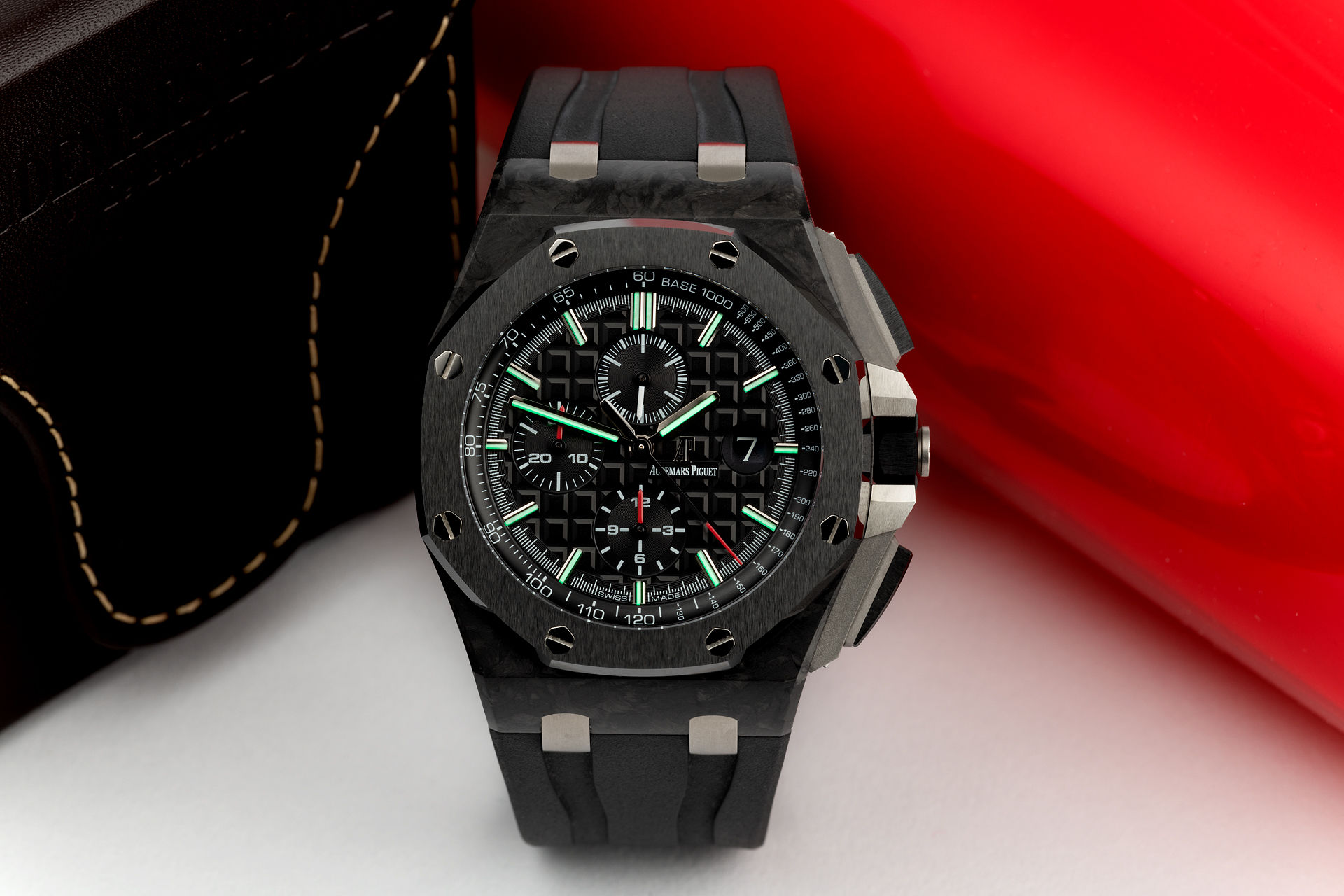 ref 26400AU.OO.A002CA.01 | 'Forged Carbon' | Audemars Piguet Royal Oak Offshore