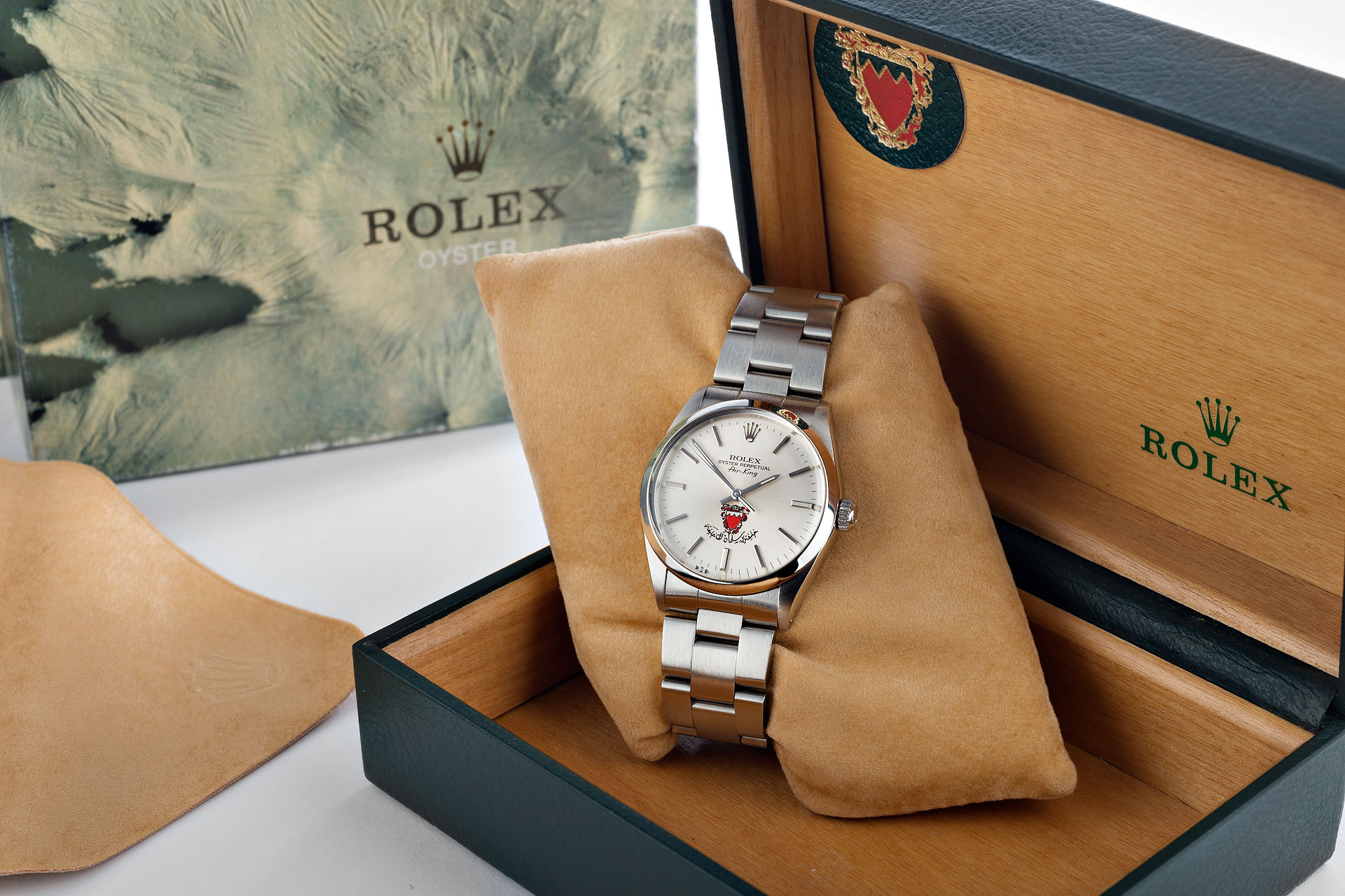 ref 5500 | Vintage - Crested Box | Rolex Air-King