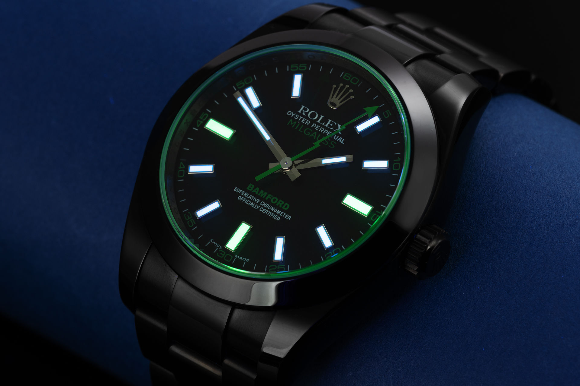 ref 116400GV | 'Limited Edition' One of 100  | Bamford Milgauss