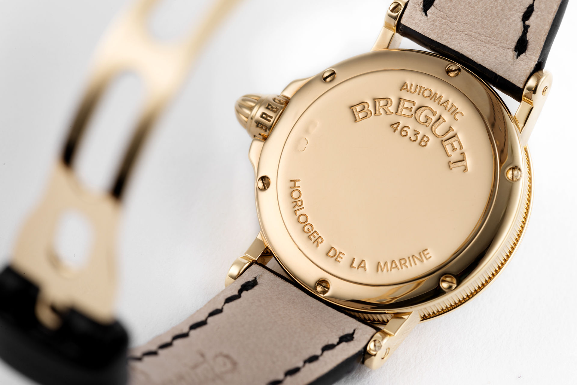 ref 8400BA | Yellow Gold Automatic | Breguet Marine