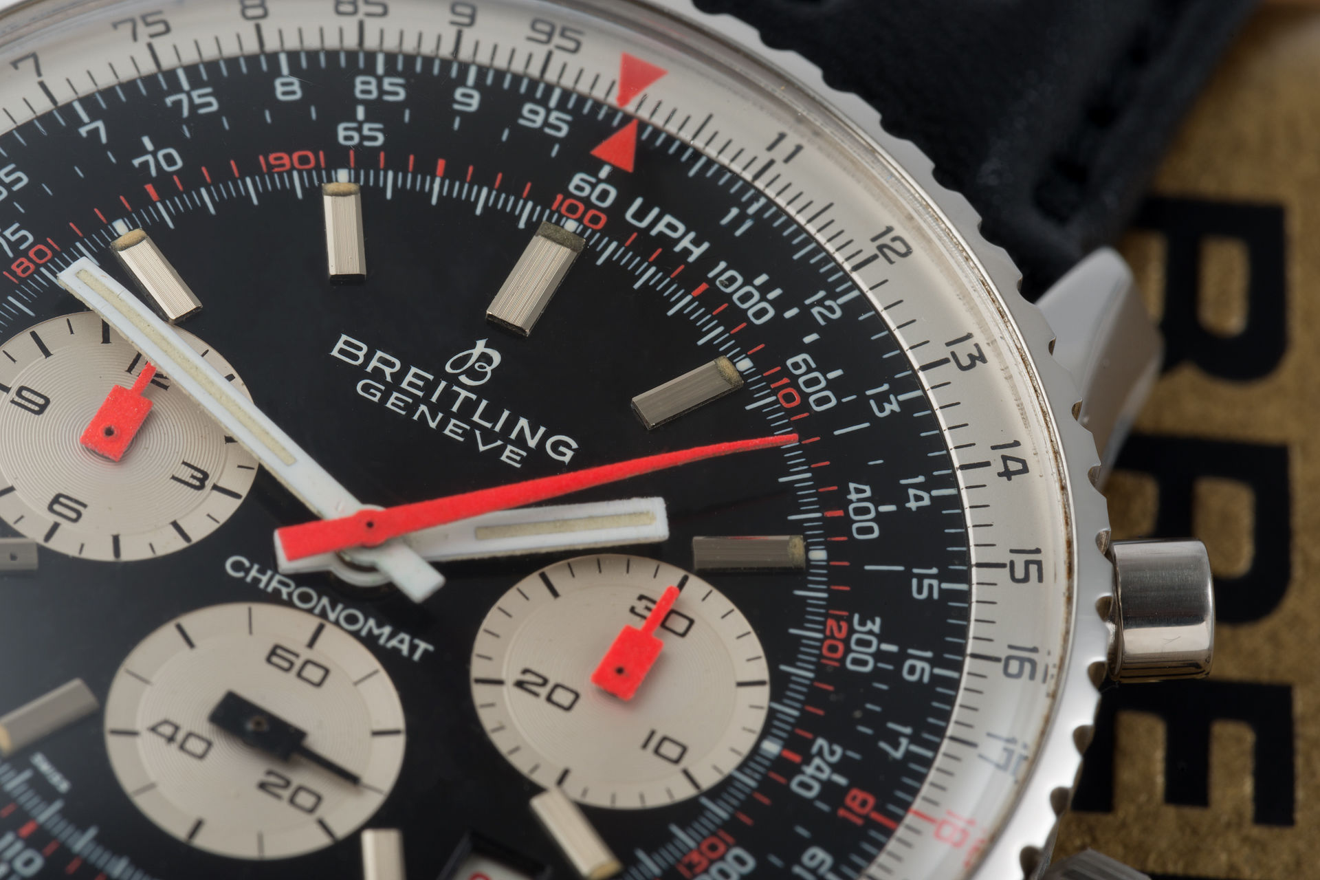 ref 7808 | 'Orange Hands' | Breitling Chronomat