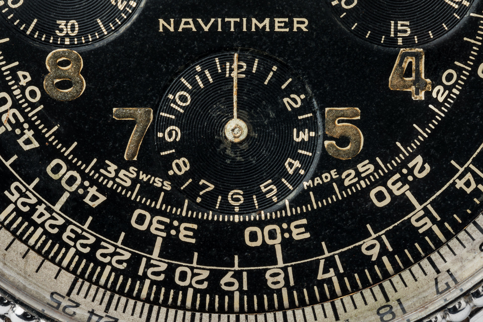 ref 806 | Rare 'All-Black' | Breitling Navitimer