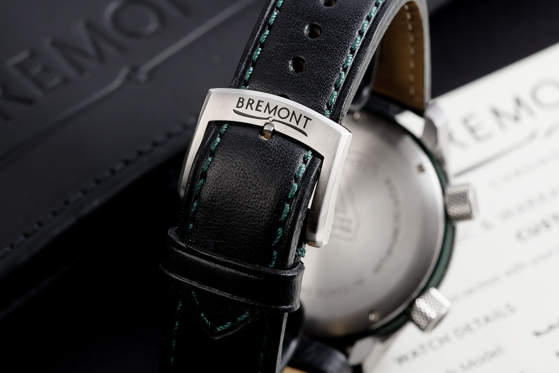 ref MB11/ON | 'Original Box & Certificate' | Bremont MB11 Black