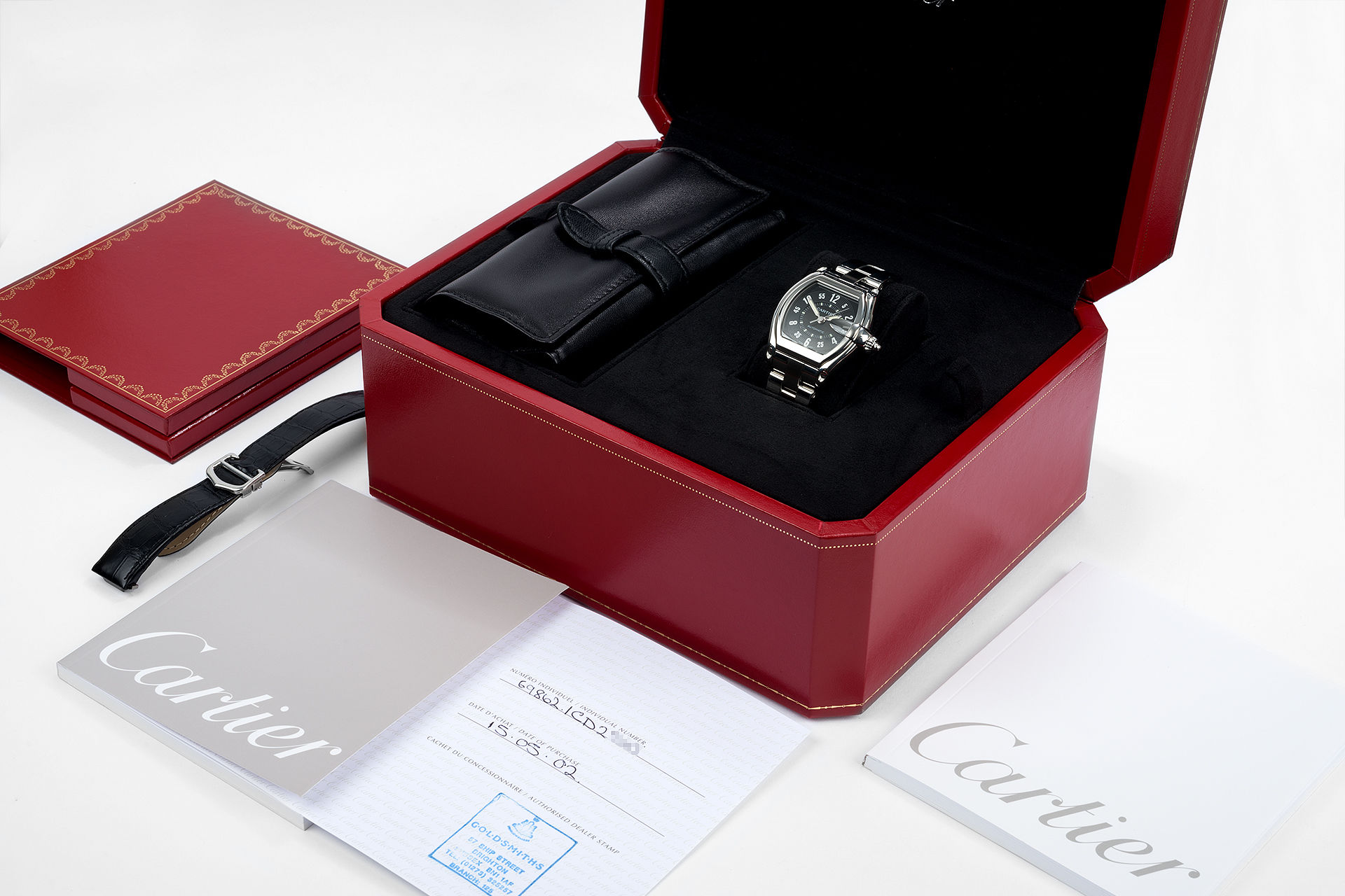 Box & Papers | ref 2510 | Cartier Roadster