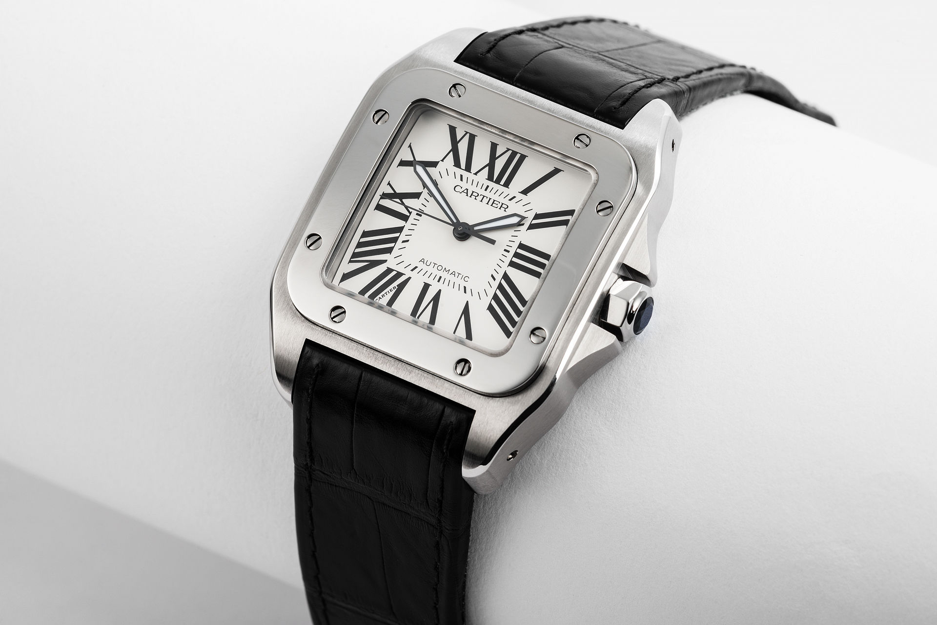 2324803faa1c8 Cartier Santos 100 Watches | ref W20073X8 | Extra Large 'Full Set ...