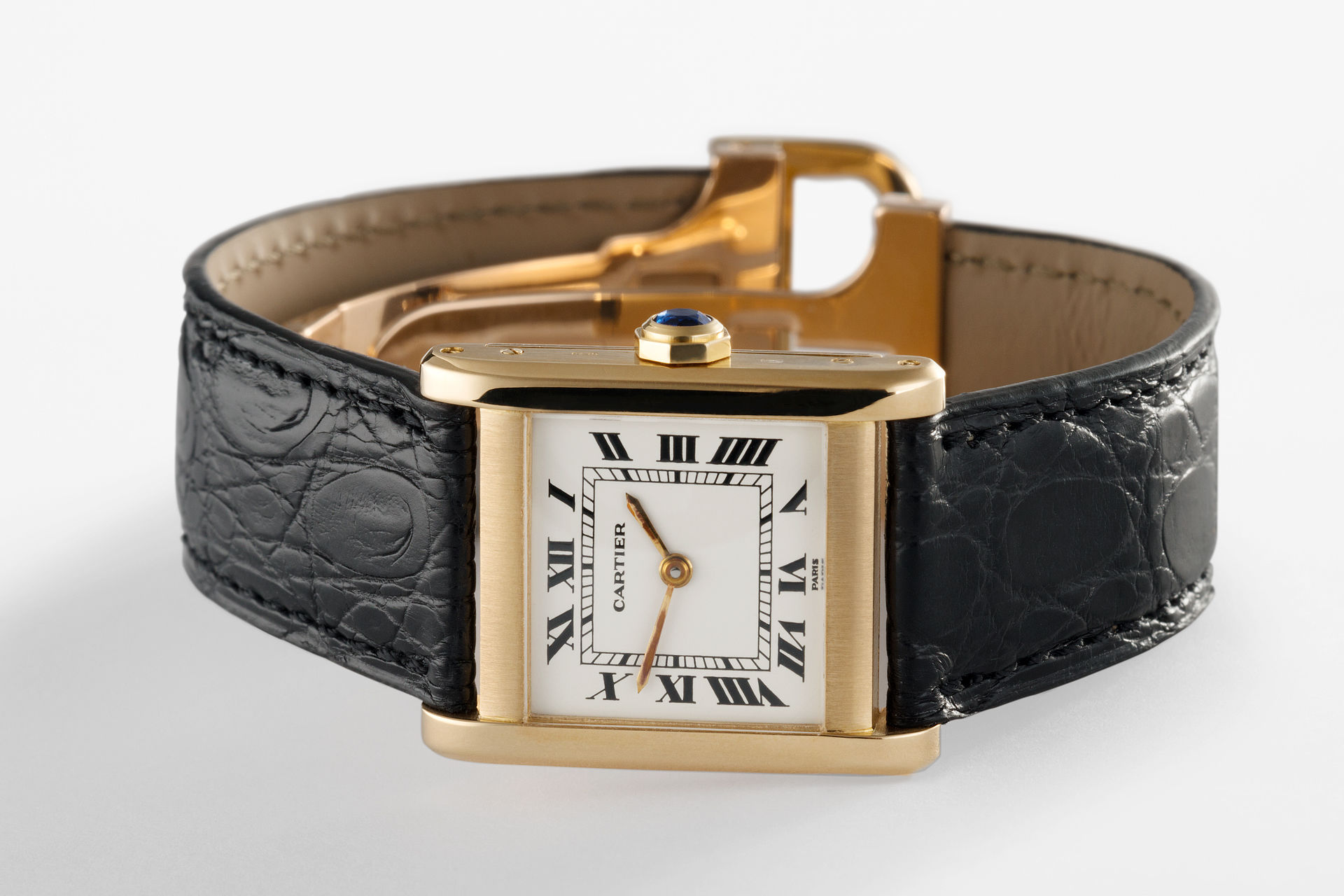 ref Vintage | Yellow Gold 'Paris Dial' | Cartier Tank Normale