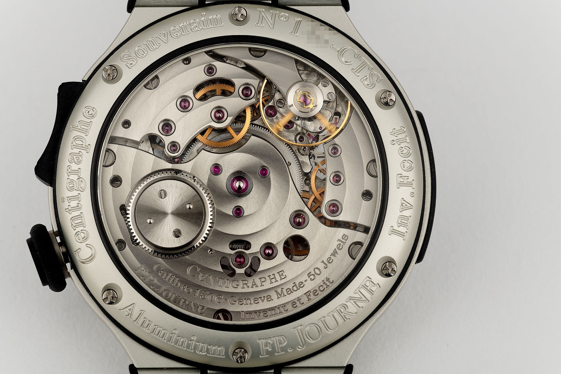 | Ultra Light '100th of a Second' | F. P. Journe Centigraph S