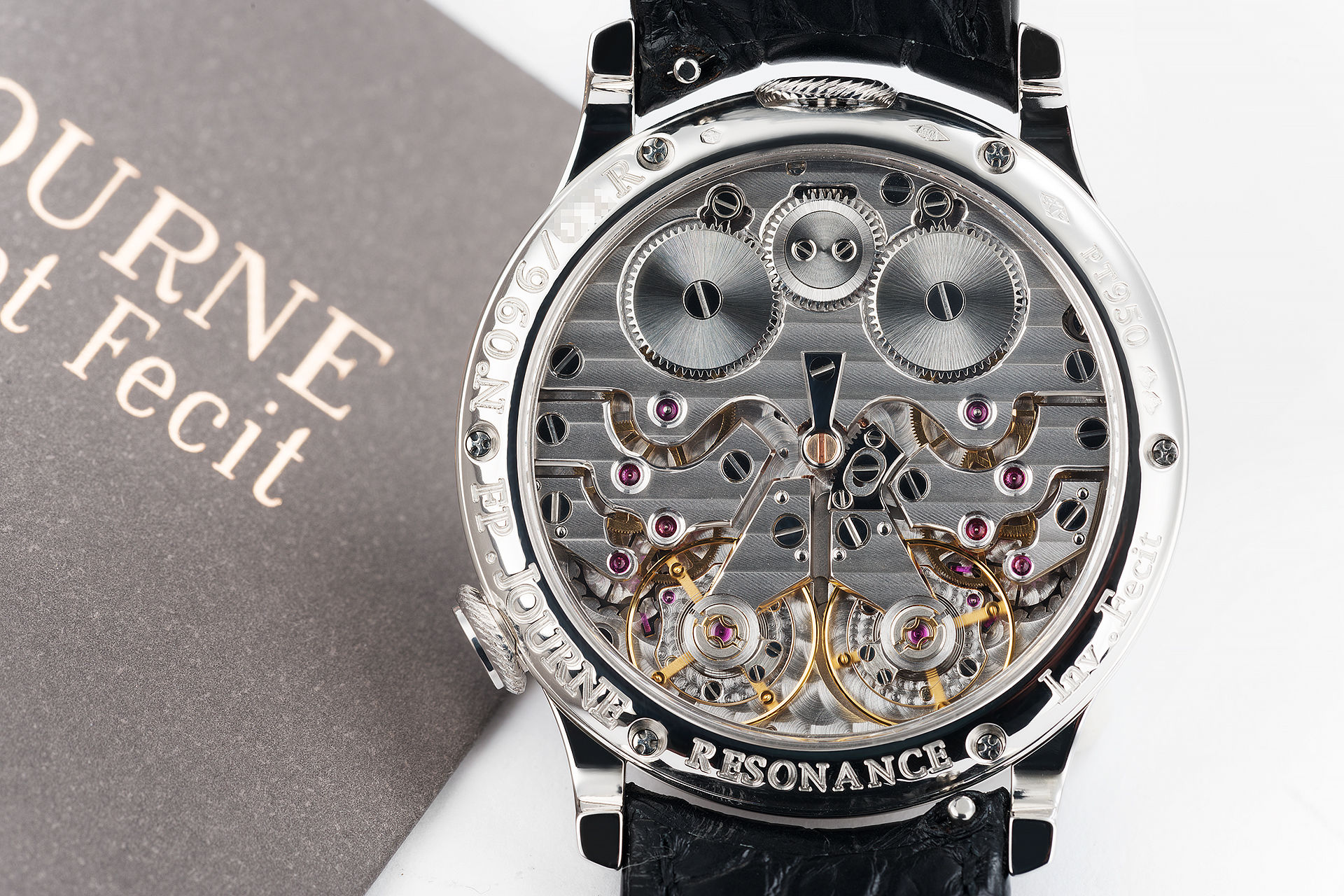 ref 'R' | Platinum 'Complete Set' | F. P. Journe Chronomètre à Résonance