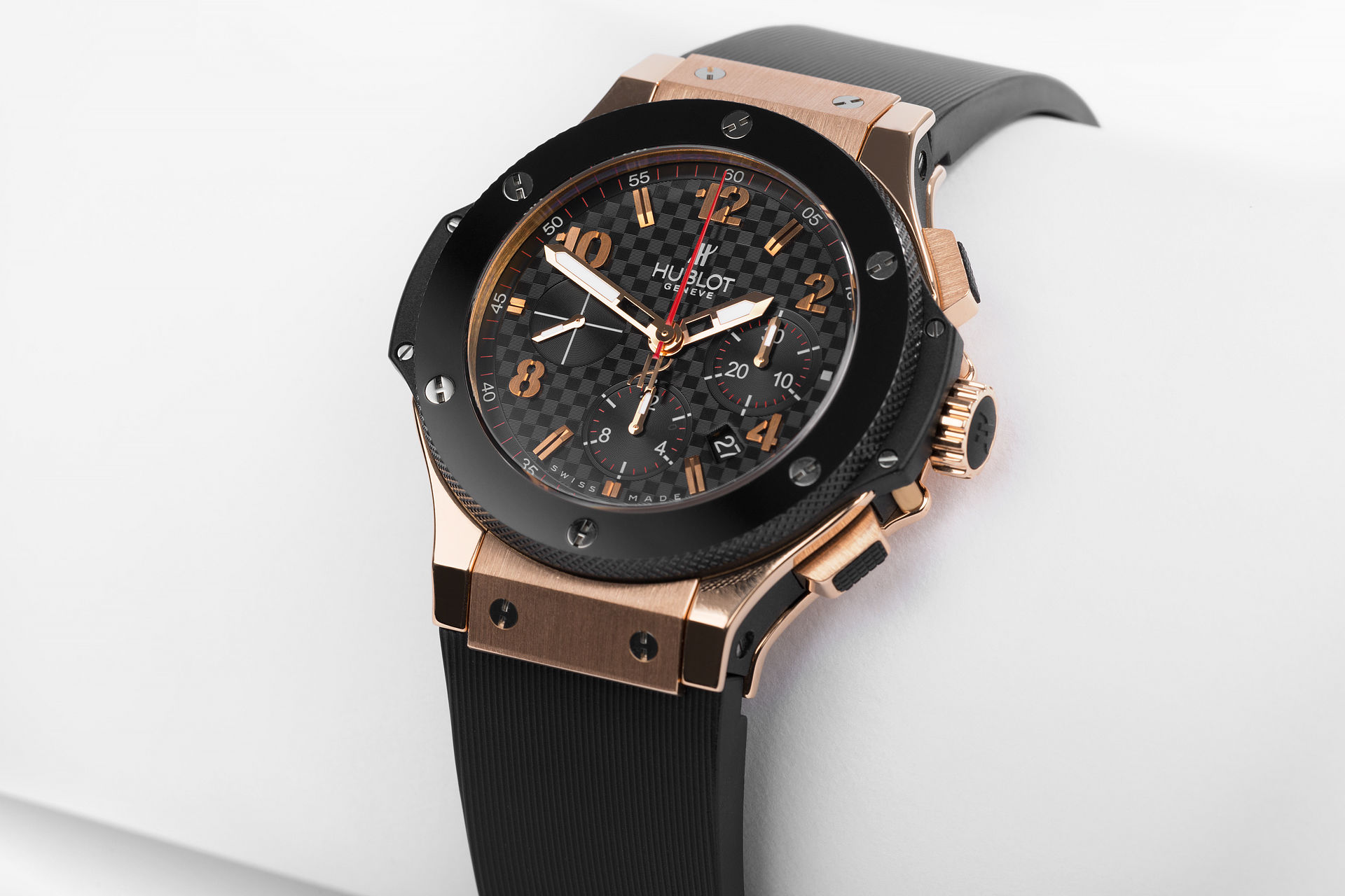 ref 301.PB.131.RX | 44mm Rose Gold 'Hublot Warranty' | Hublot Big Bang