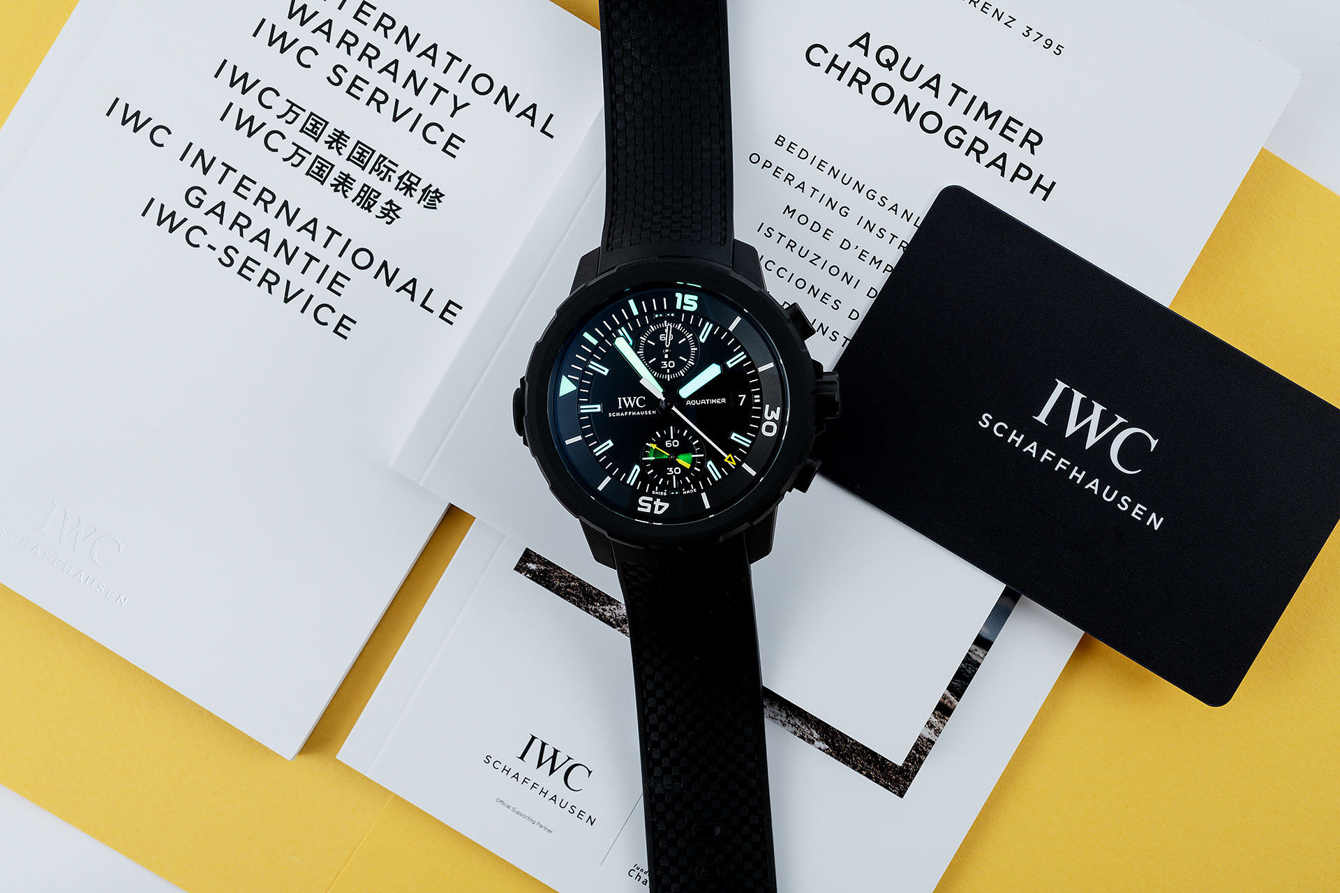 "ref IW379502 | Brand New Unworn 'Special Edition' | IWC Aquatimer Chronograph Edition ""Galapagos Islands"""