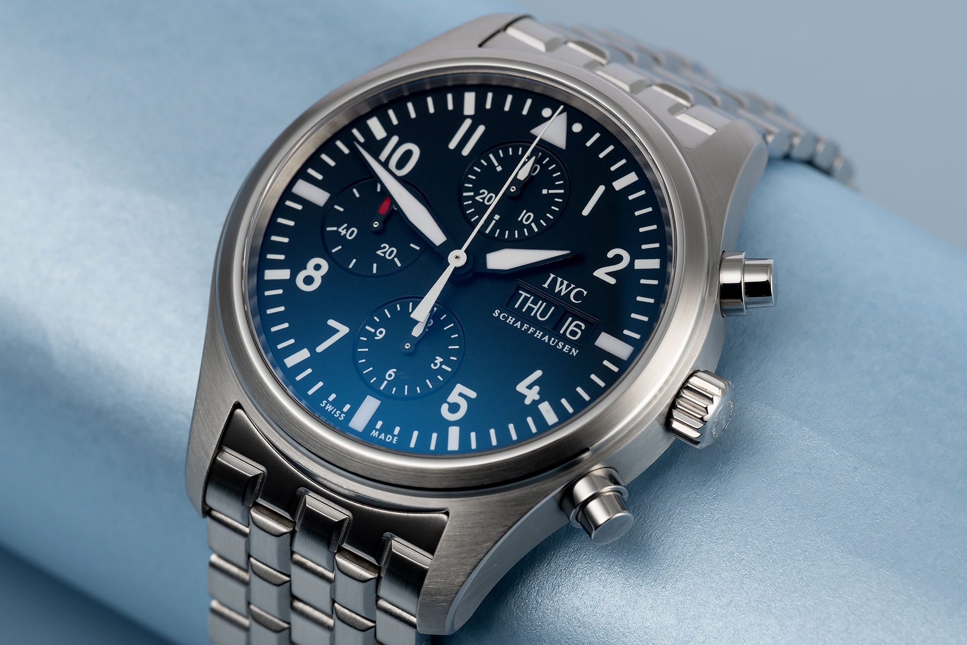 ref IW371704 | 'Complete Set' 42mm  | IWC Flieger Chronograph