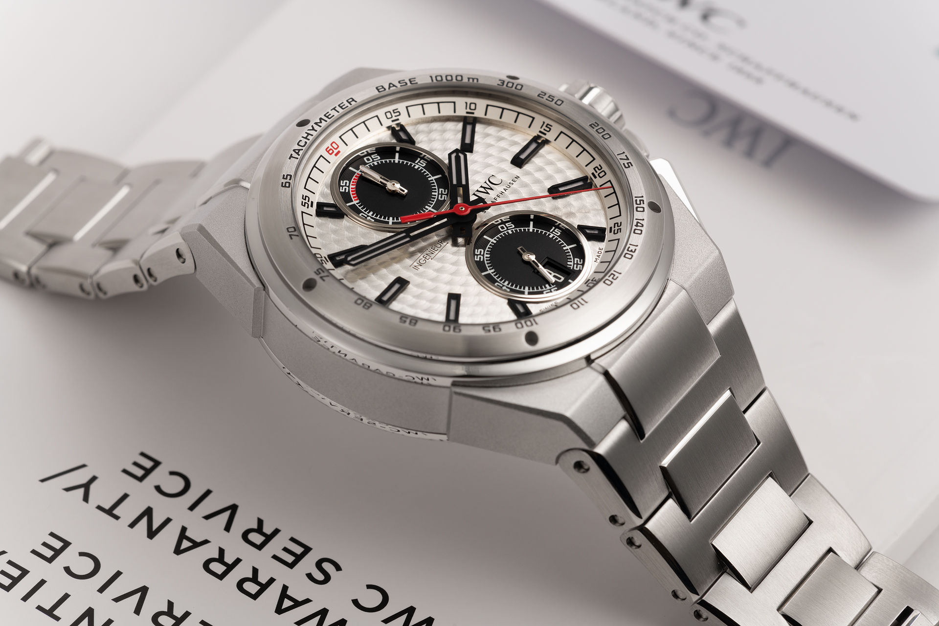 ref IW378505 | Limited Edition 'Silver Arrow' | IWC Ingenieur