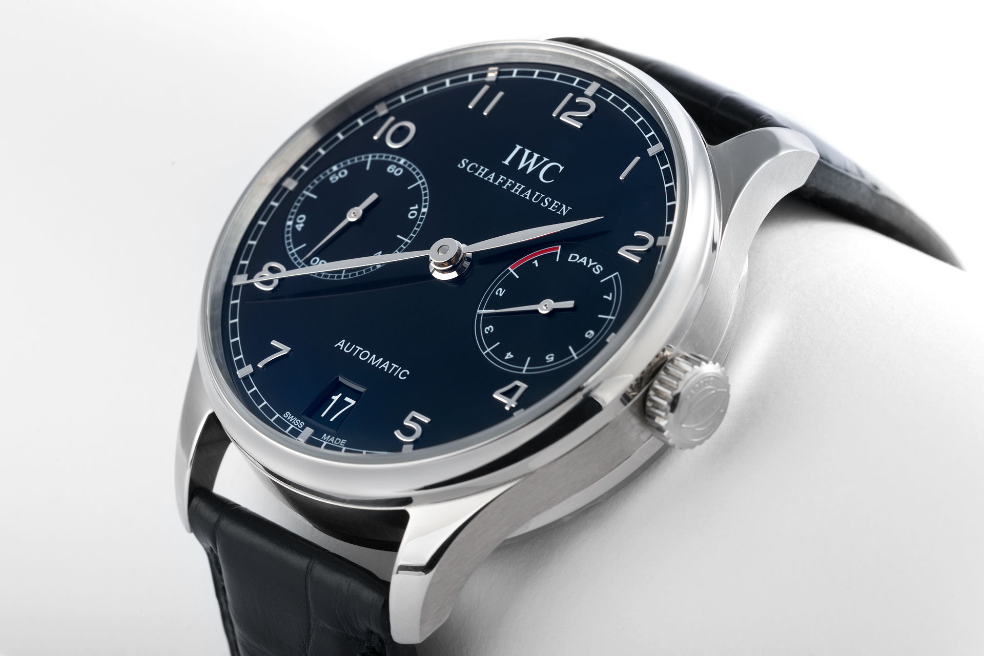 ref IW500109 | '7 Day Power Reserve' | IWC Portuguese