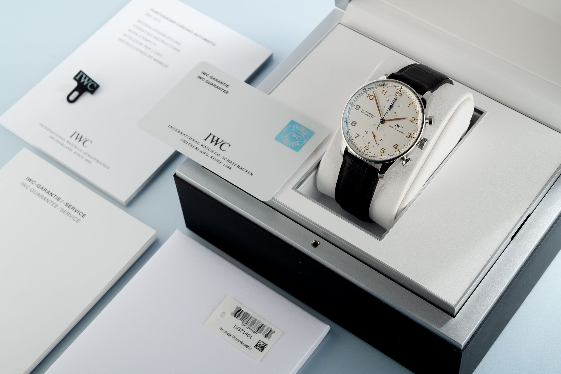 Box & Papers | ref IW371401 | IWC Portuguese