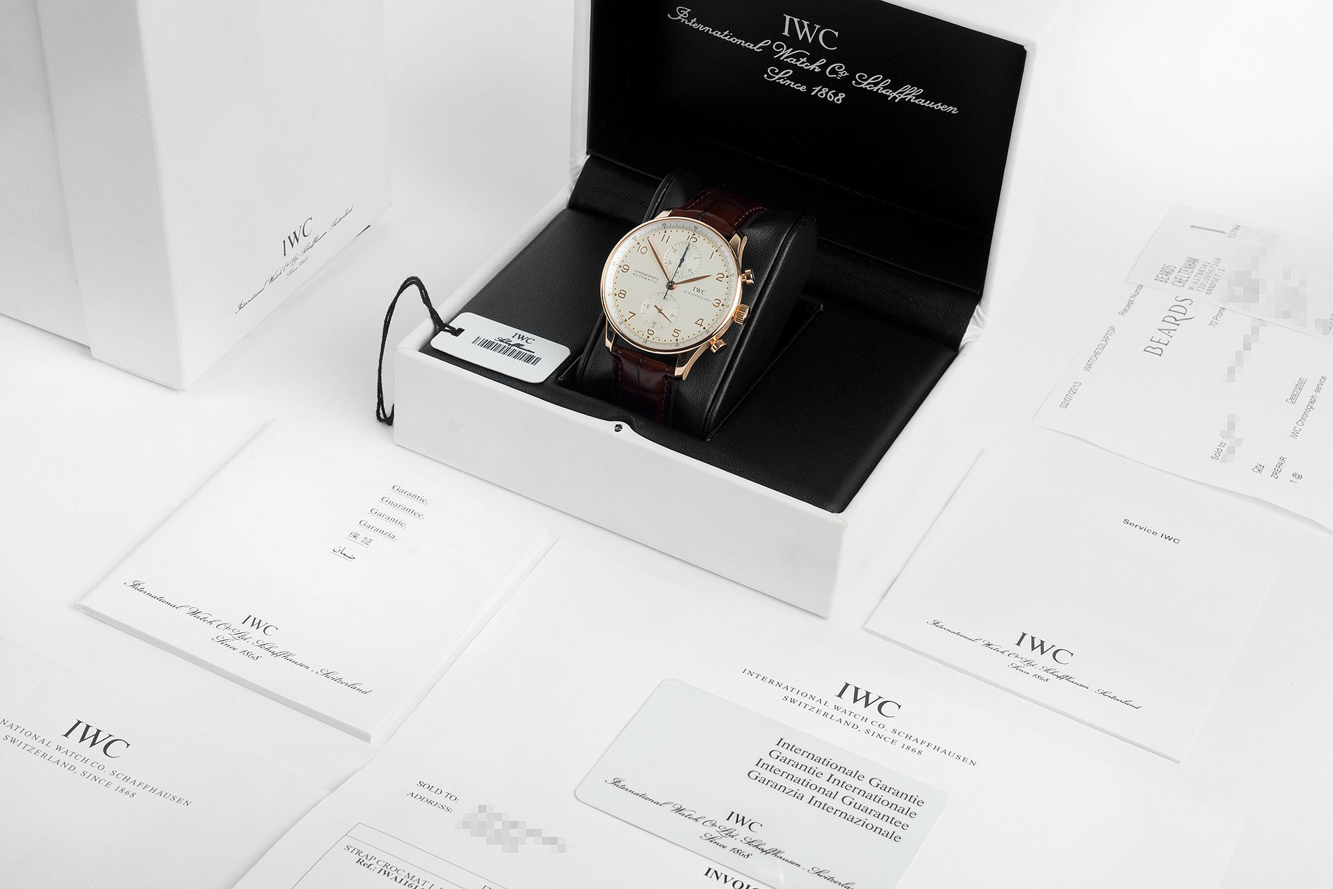 ref IW371402 | 41mm 'Box & Papers' | IWC Portuguese