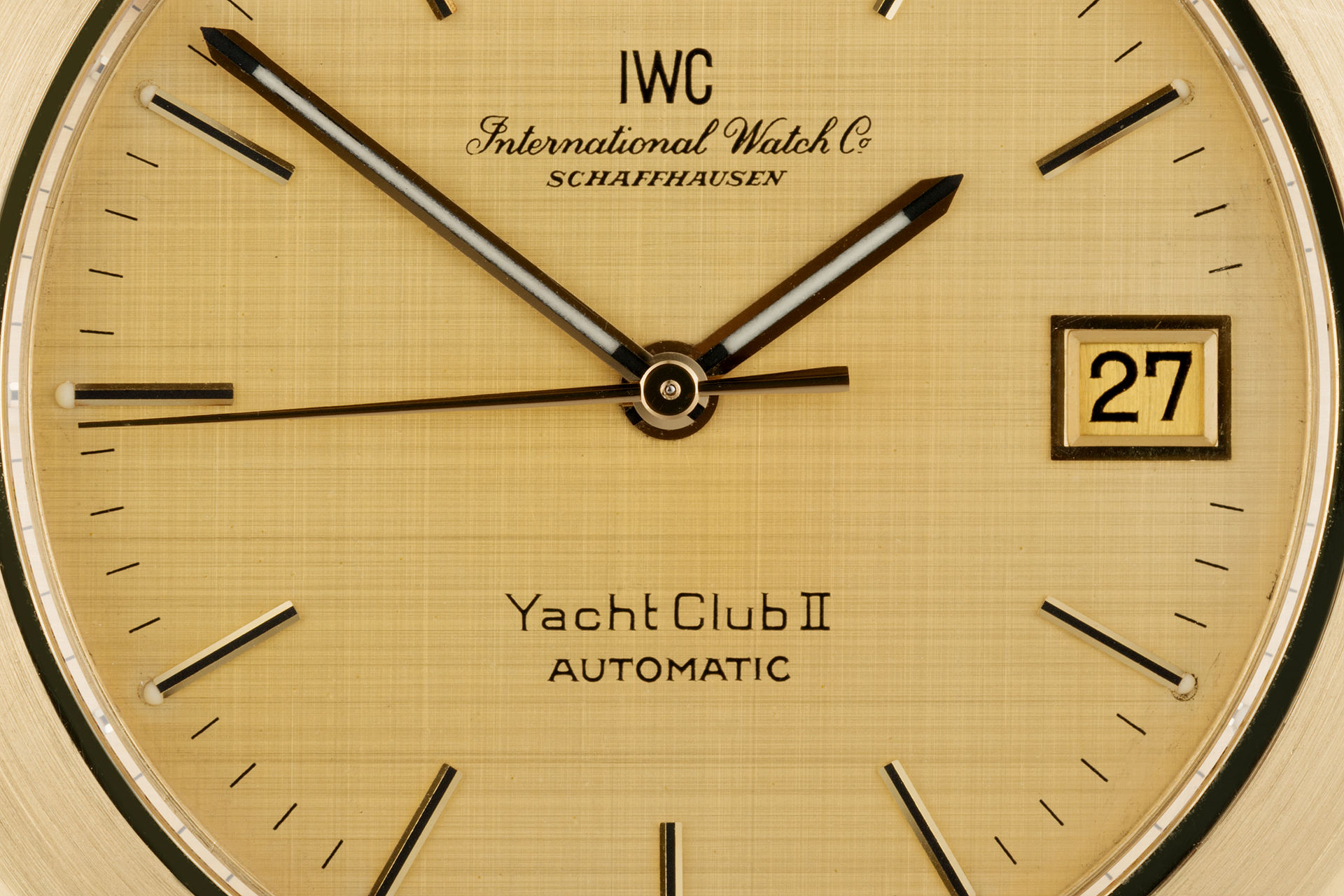 ref 9129 | 18ct Yellow Gold Automatic | IWC Yacht Club II