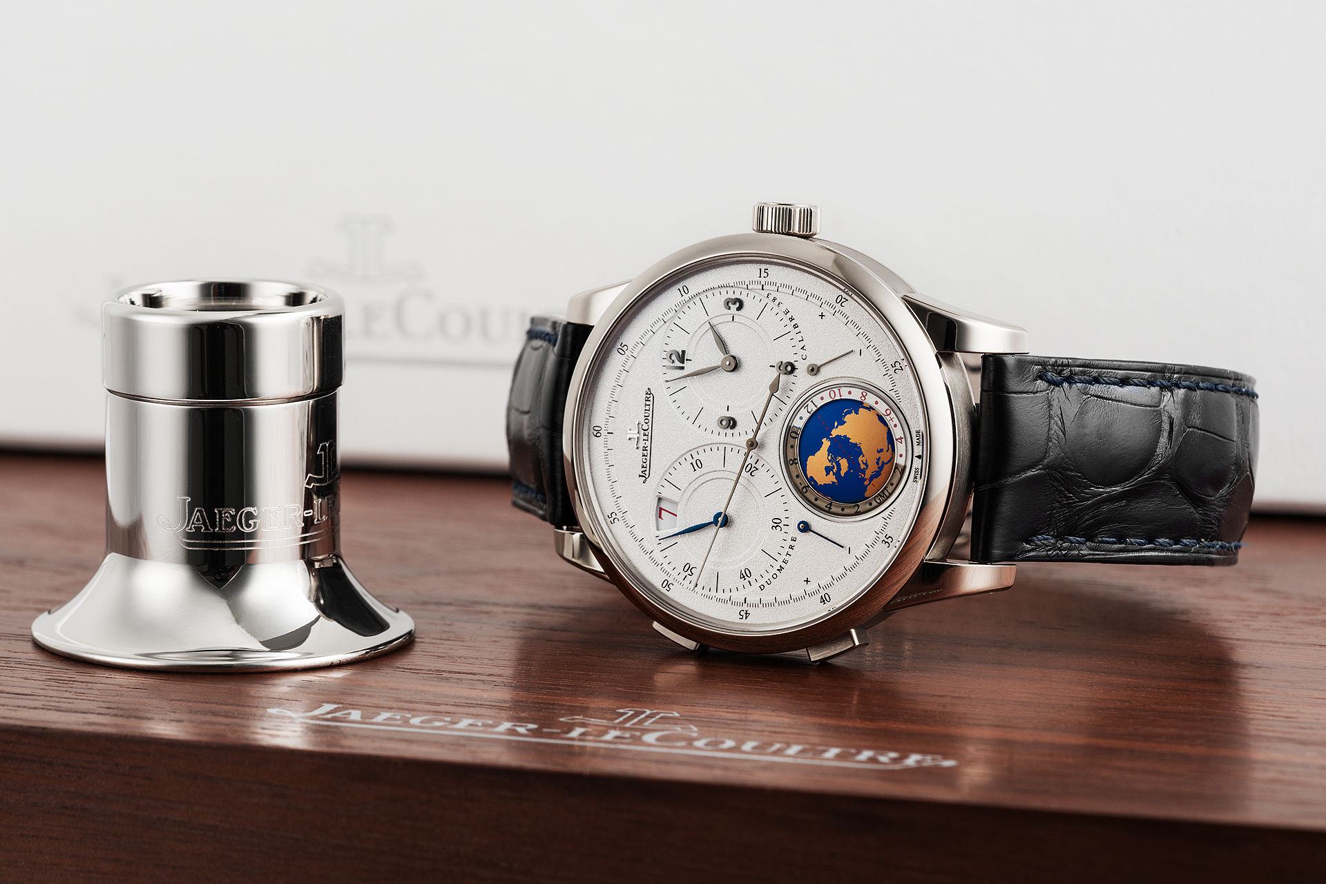 ref 600.3.16.S | 'Limited Parisian Edition'  | Jaeger-leCoultre Duometre Travel Time