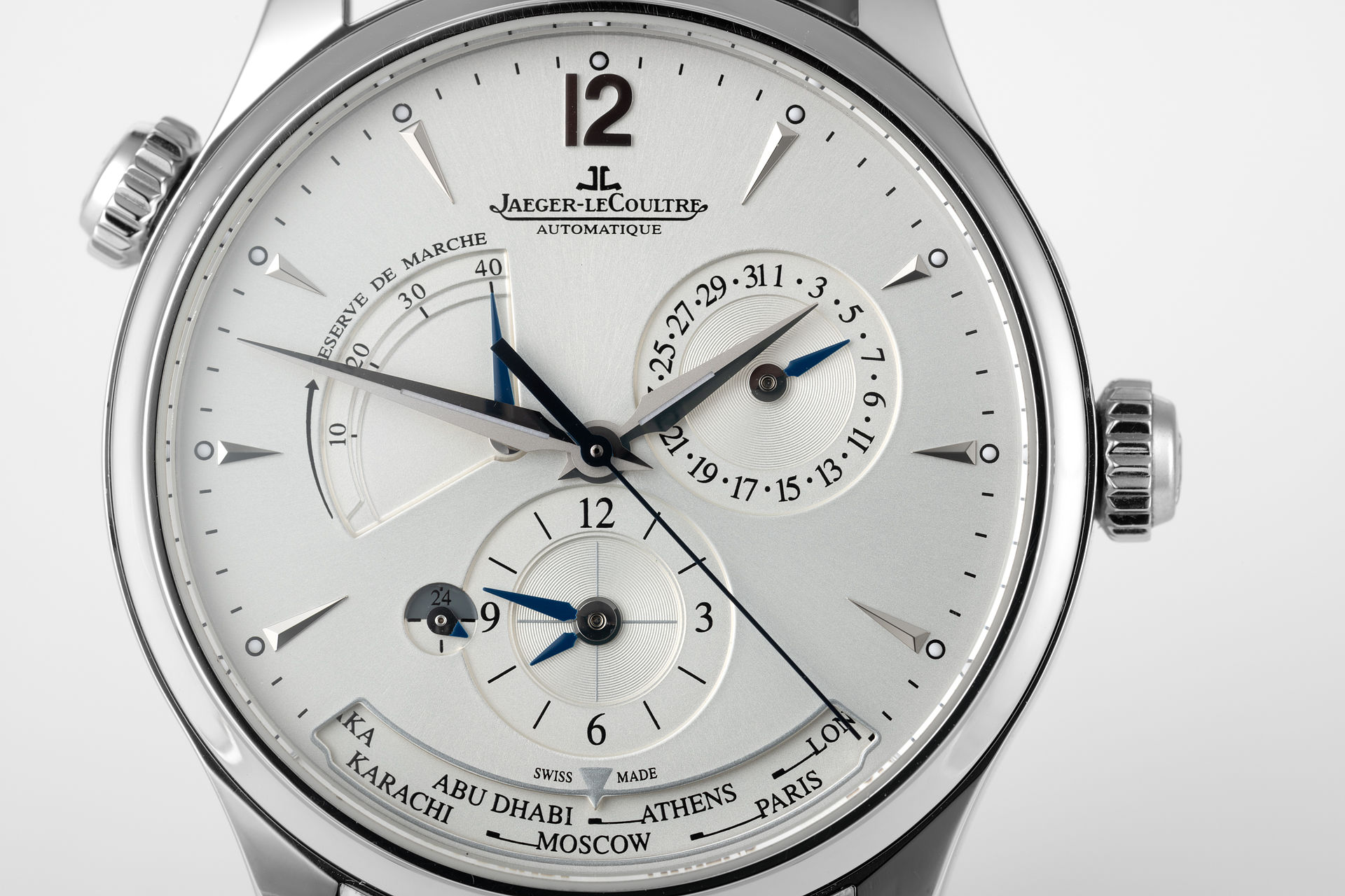 ref Q1428421 | 39mm 'Complete Set' | Jaeger-leCoultre Master Geographic