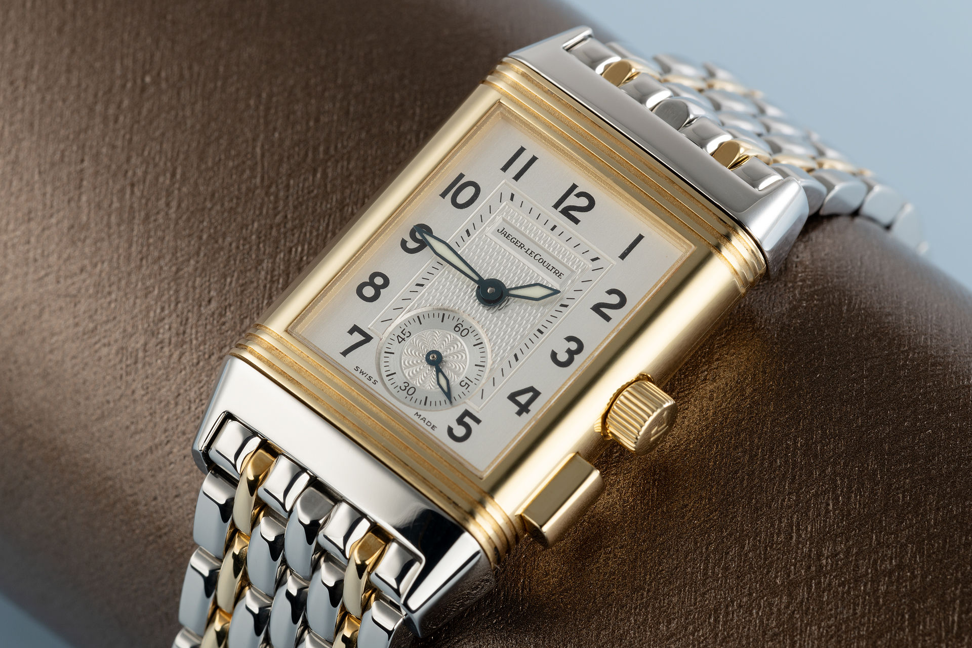18ct Gold & Steel  | ref 255.5.82 | Jaeger-leCoultre Reverso