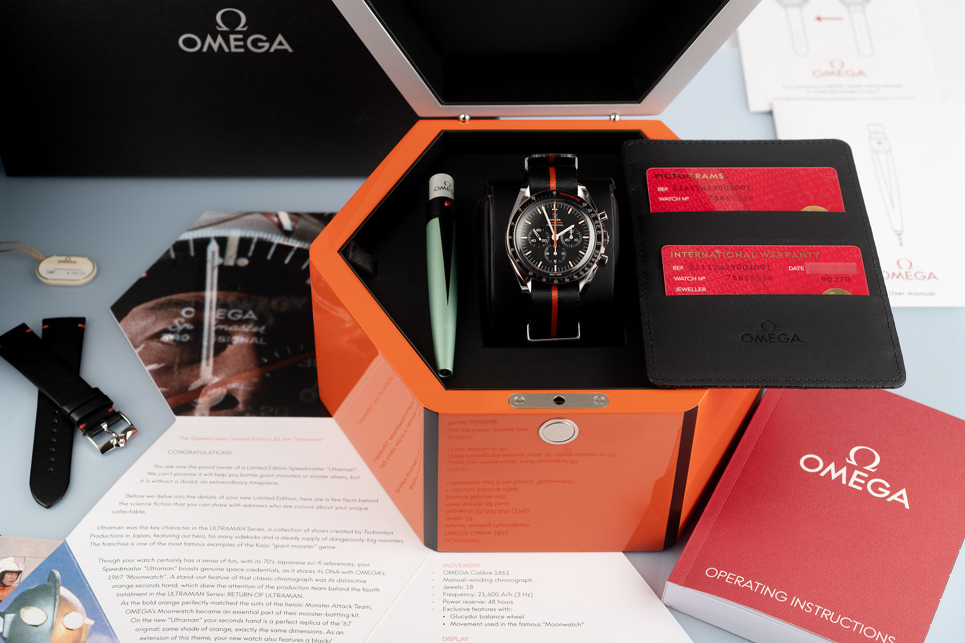 ref 31112423001001 | Brand New Limited Edition | Omega Speedmaster Ultraman