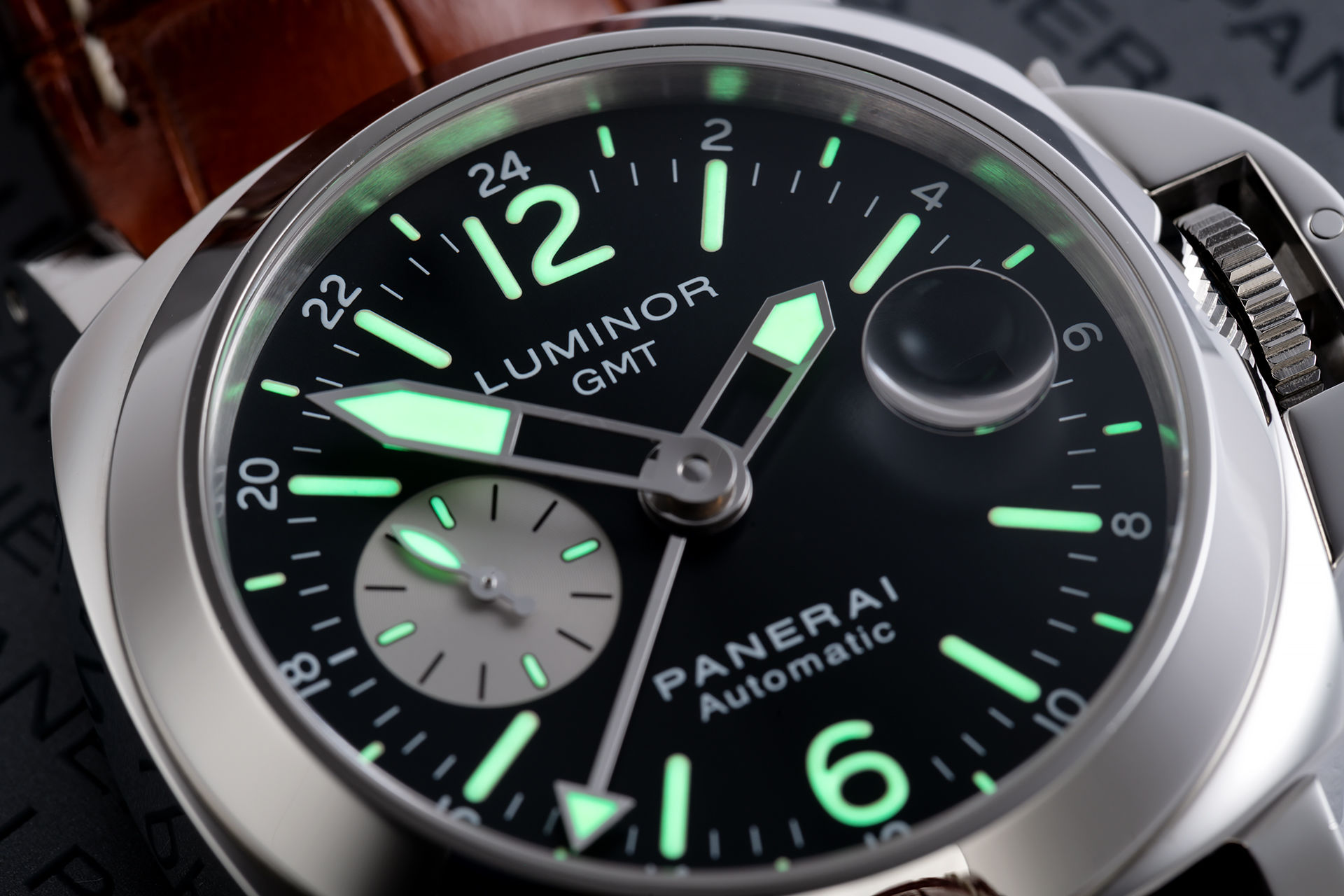 ref PAM 088 | Panerai Warranty to 2021 | Panerai Luminor GMT