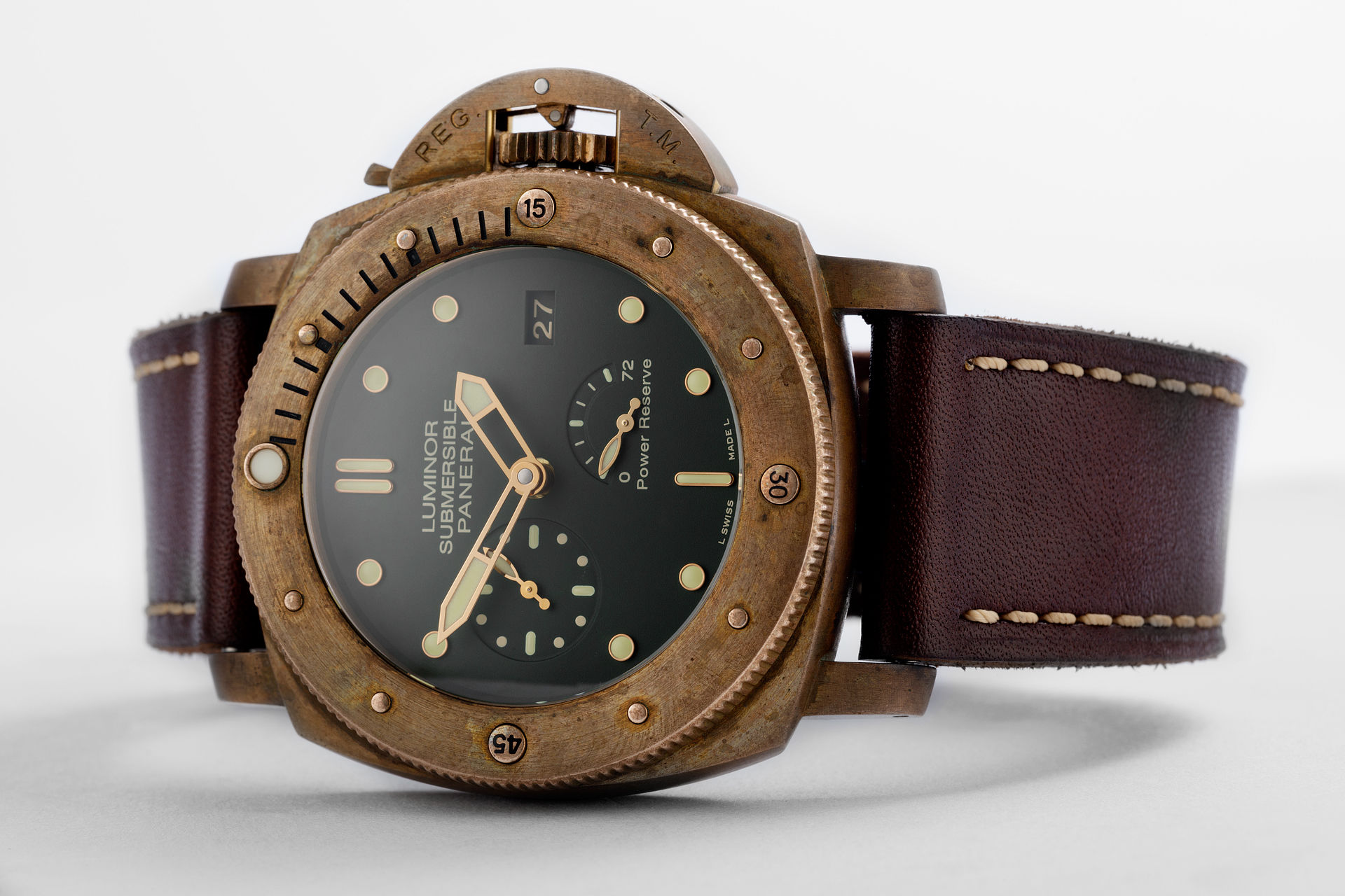 ref PAM00507 | 'Bronzo' Limited Edition | Panerai Luminor Submersible