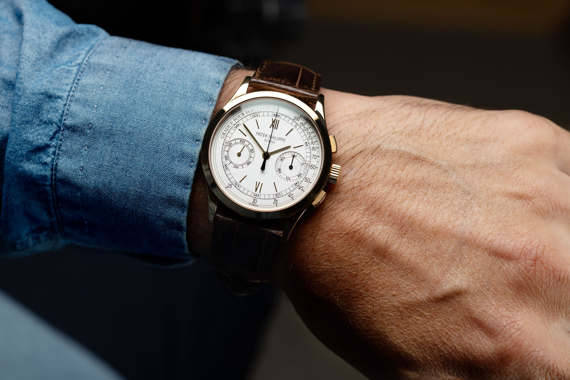ref 5170J-001 | Yellow Gold - Box & Papers | Patek Philippe Chronograph