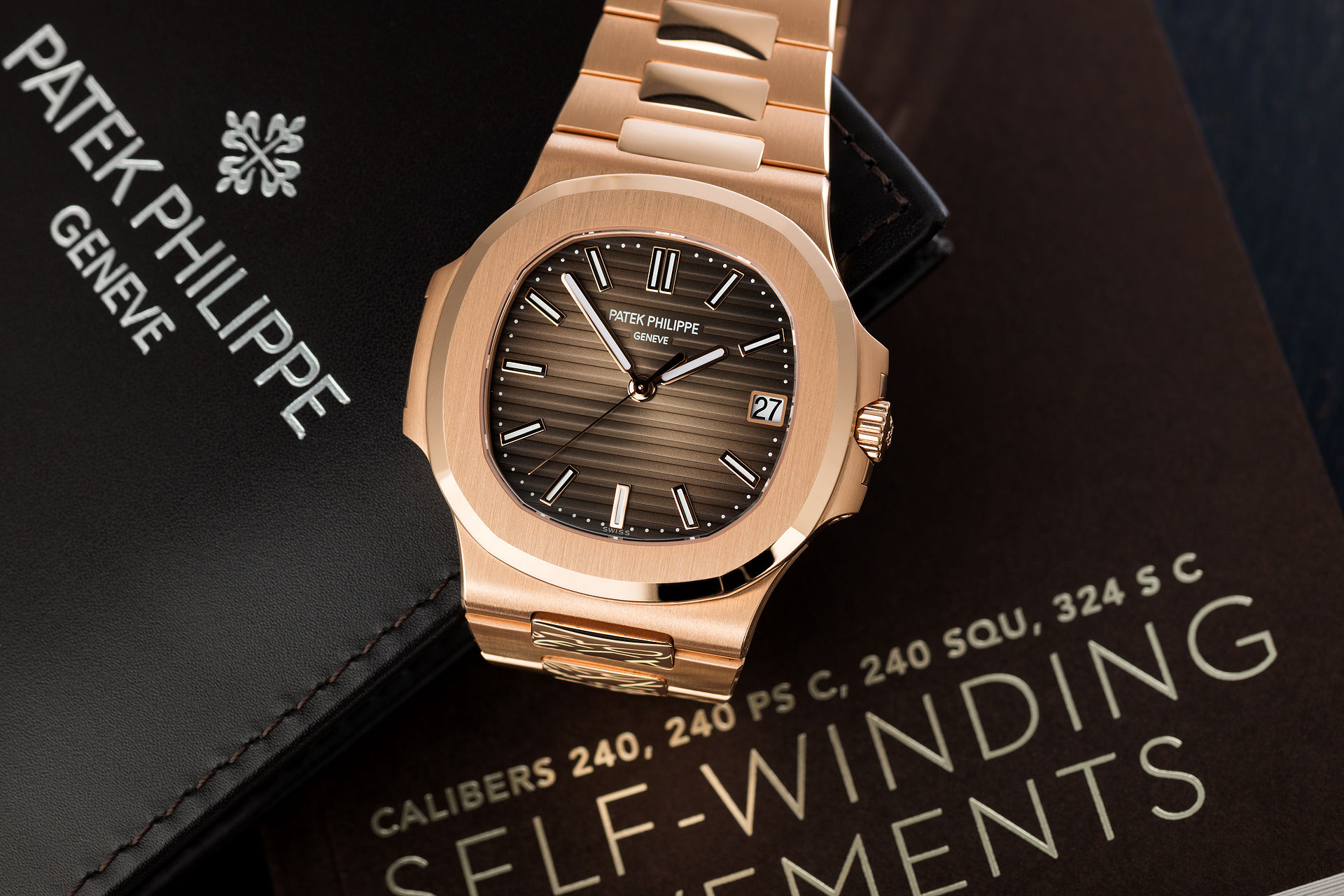 ref 5711/1R-001 | Brand New 'Rose Gold' | Patek Philippe Nautilus