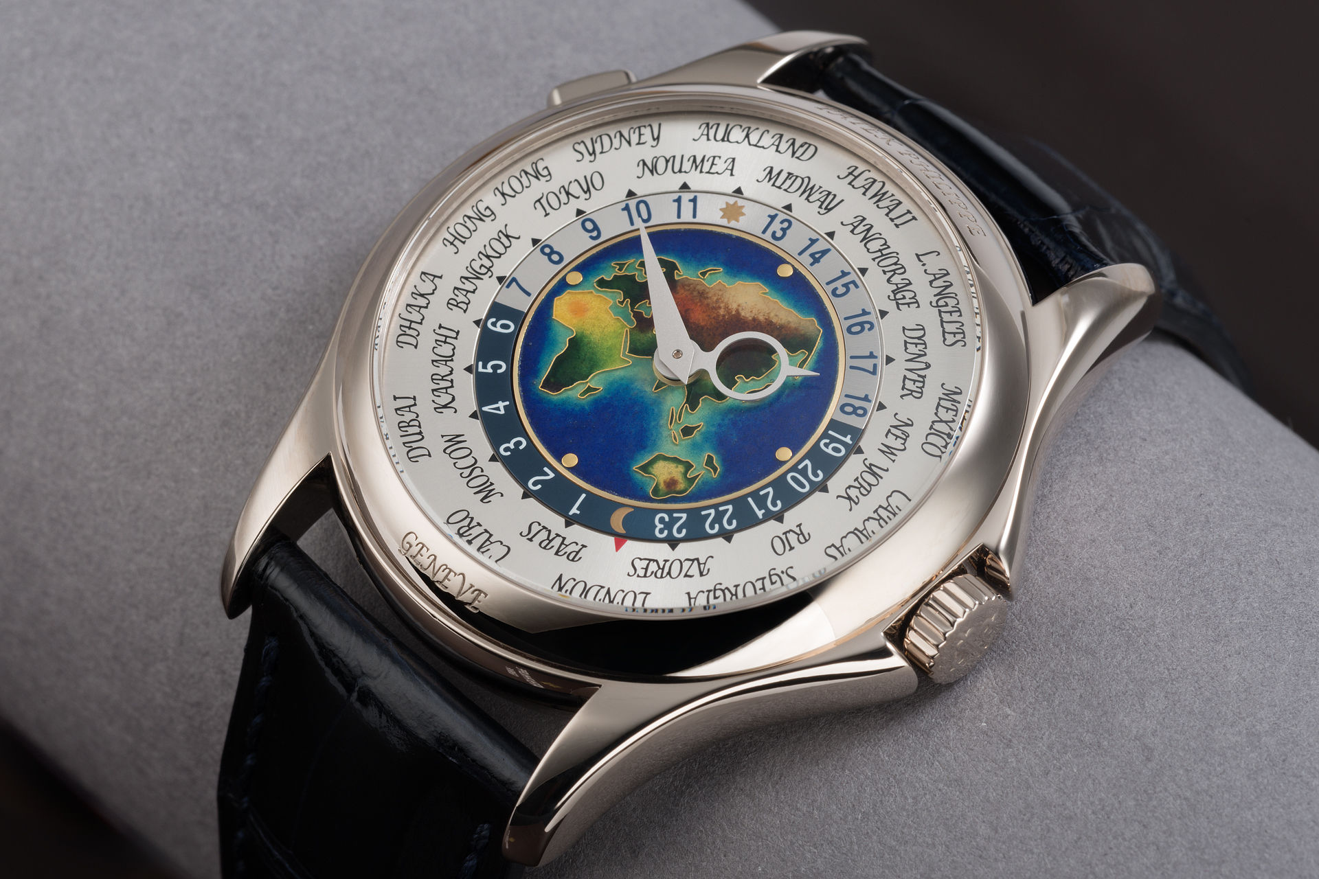 ref 5131G | 1st Series Enamel Dial | Patek Philippe World Time
