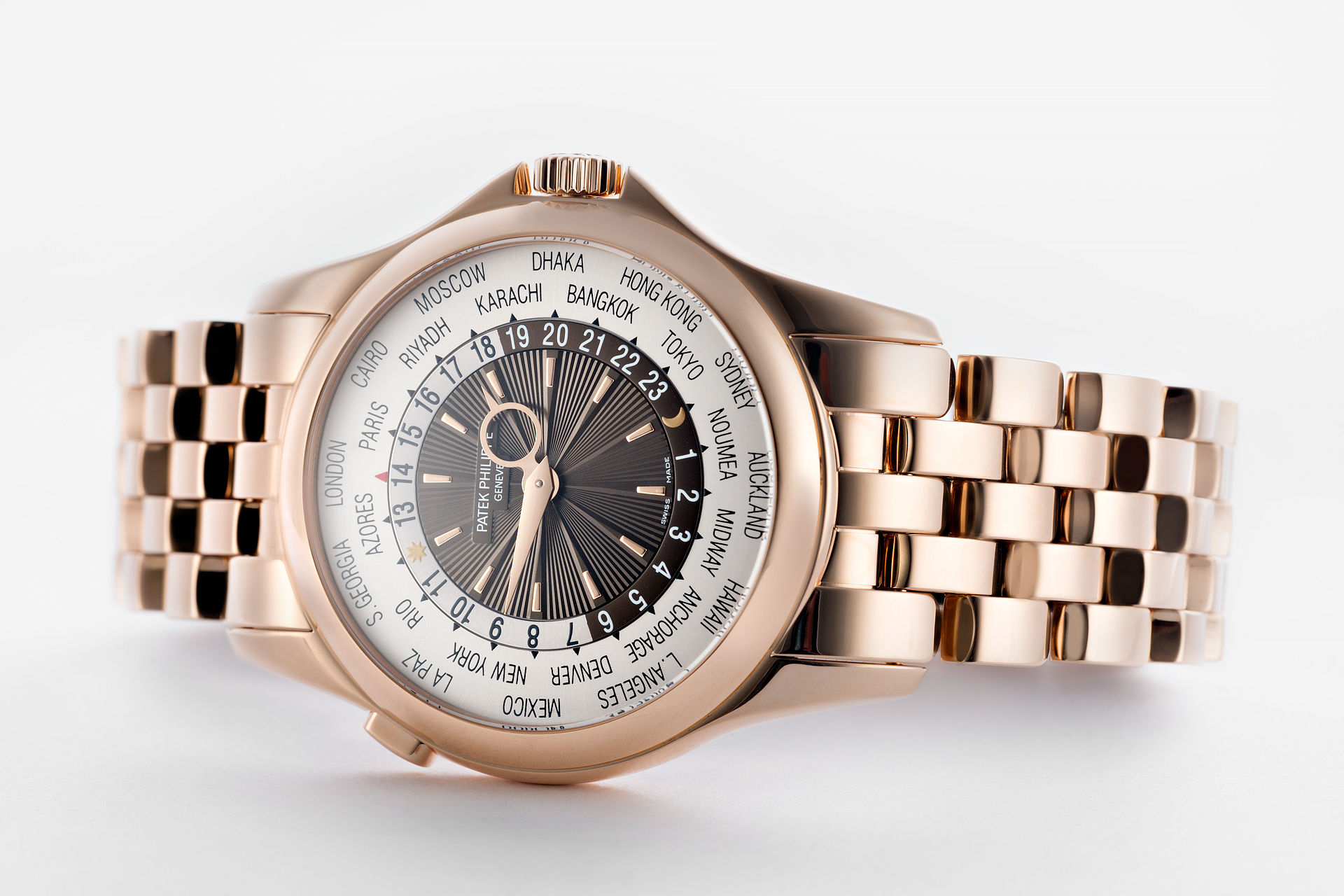 ref 5130R | 'Full Set' Immaculate | Patek Philippe World Time