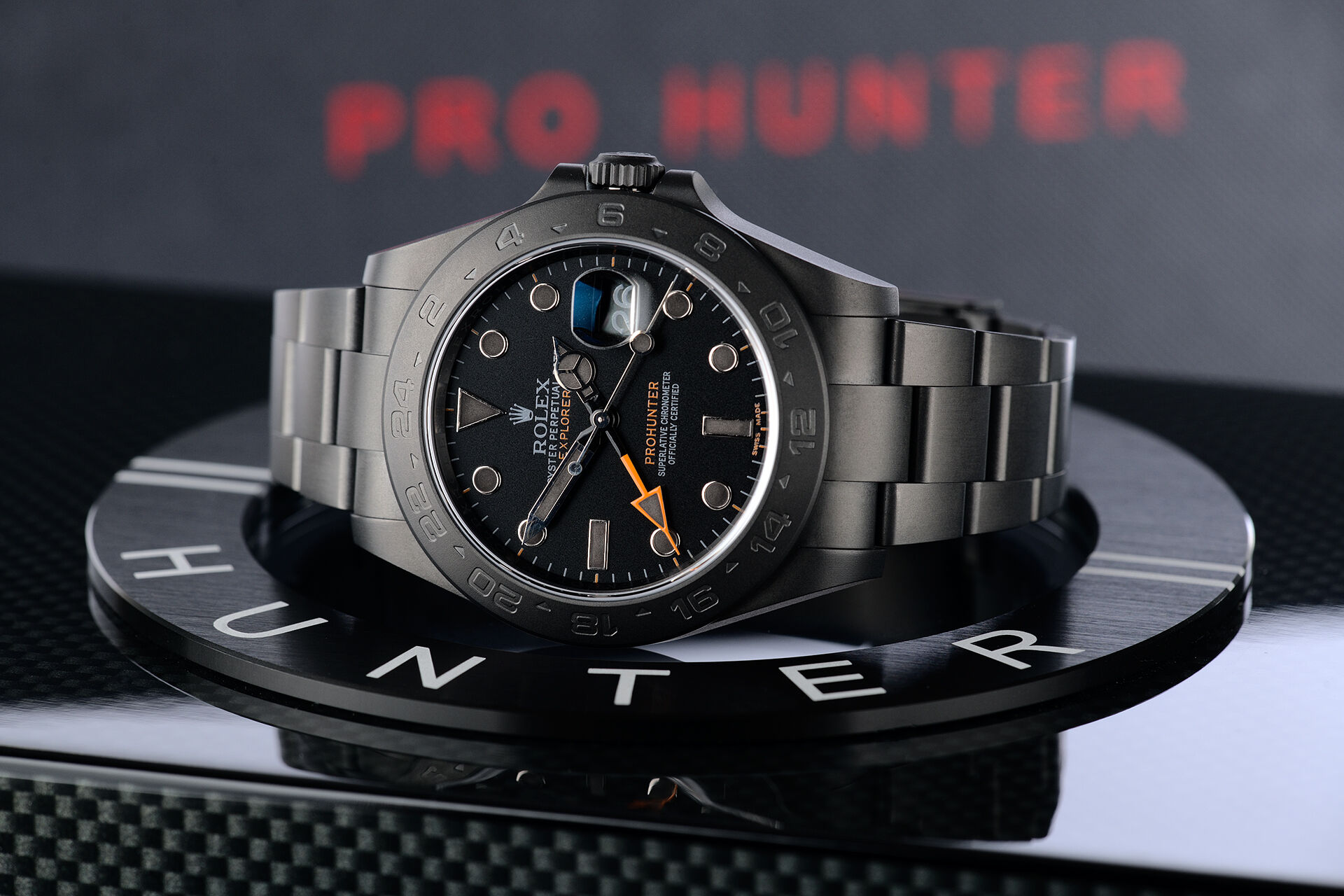 ref 216570 | Limited to 100 Pieces | Pro Hunter Explorer II Phantom