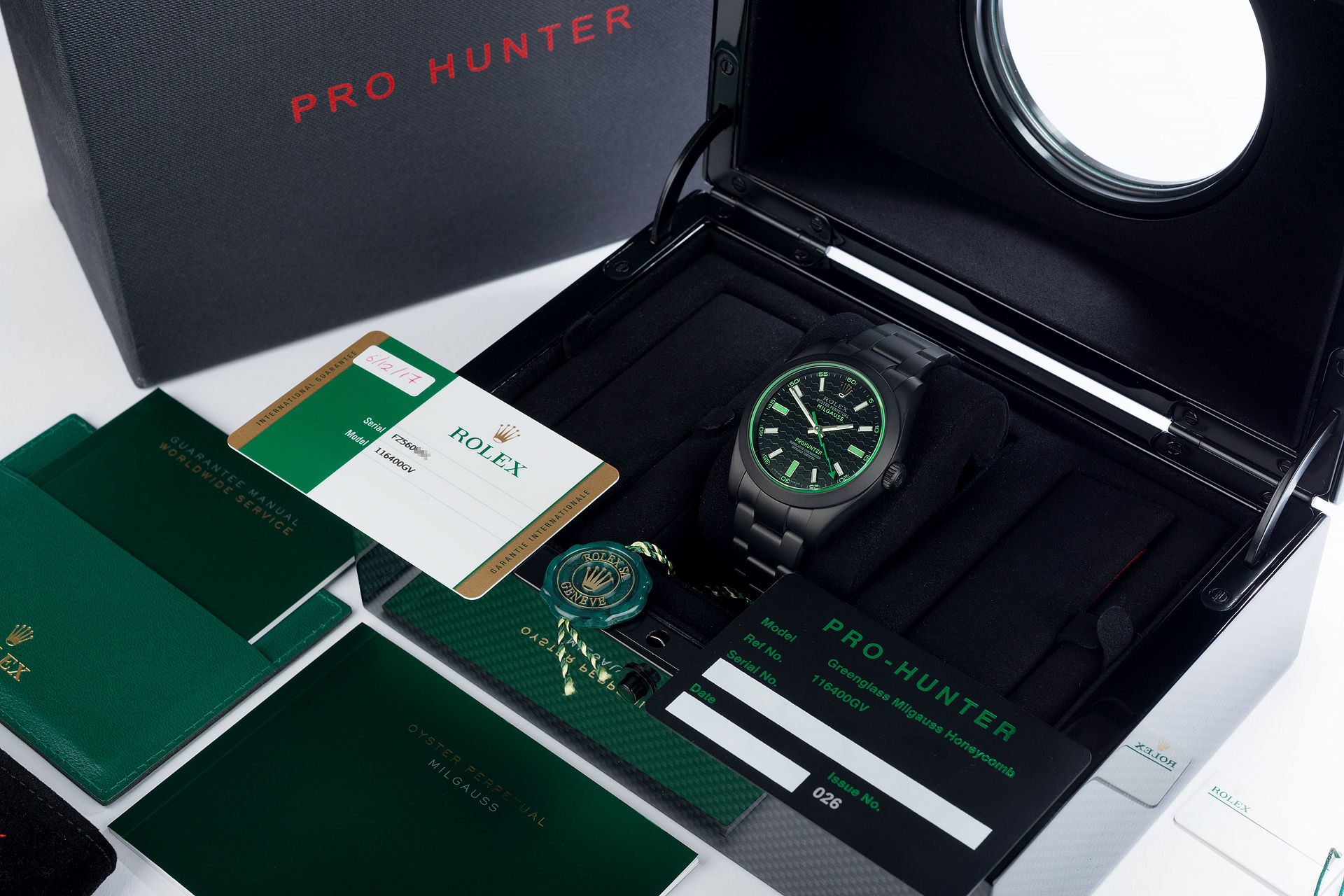 ref 116400GV | Limited Edition 'One of 100' | Pro Hunter Milgauss