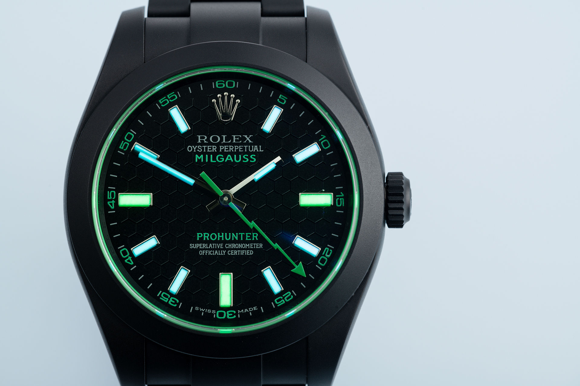 ref 116400GV | Only 100 Made | Pro Hunter Milgauss