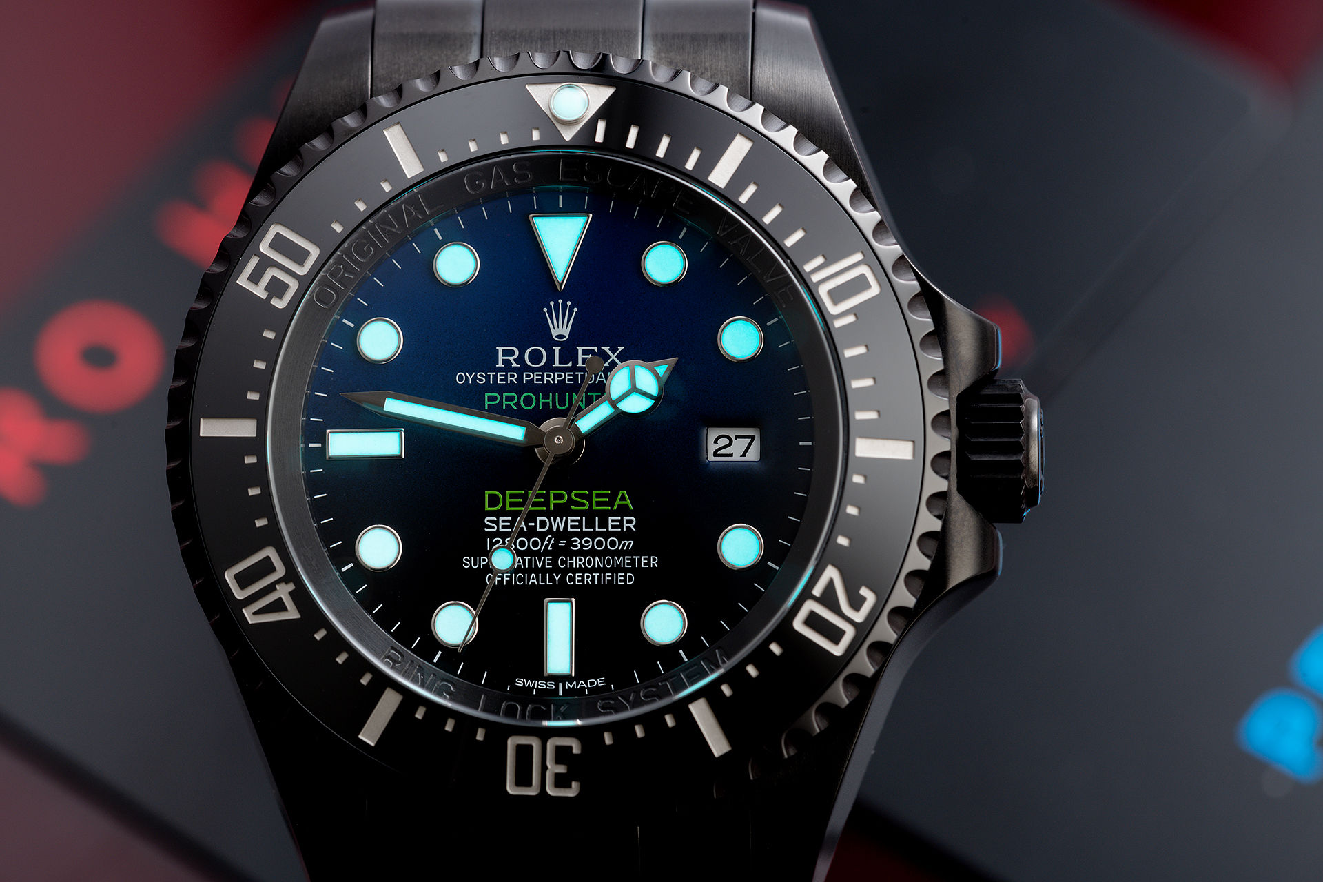 ref 116660  | Limited Edition 'One of 100' | Pro Hunter Sea-Dweller Deepsea D-Blue