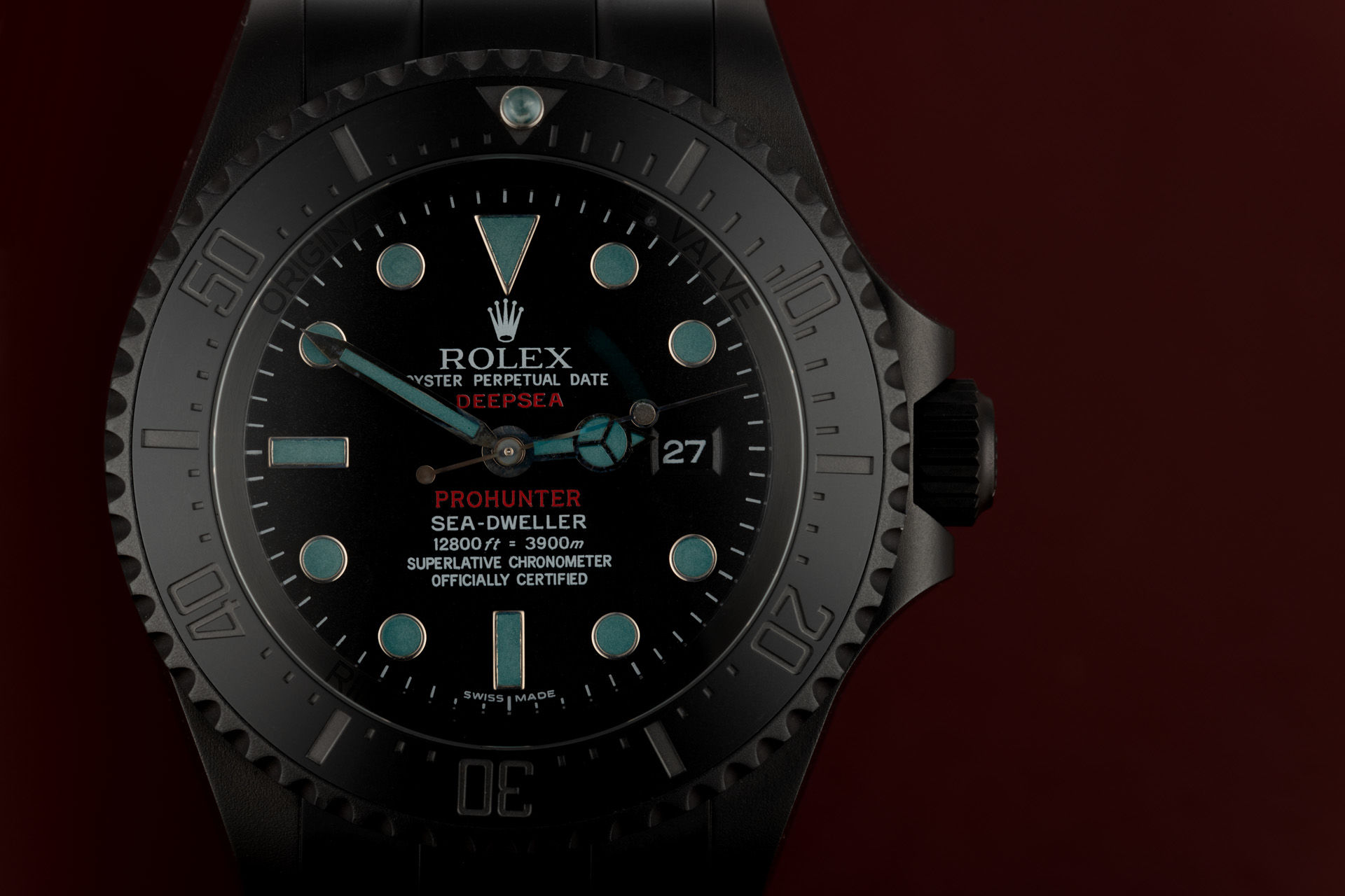 One of 100 | ref 126660 | Pro Hunter Sea-Dweller Deepsea Phantom