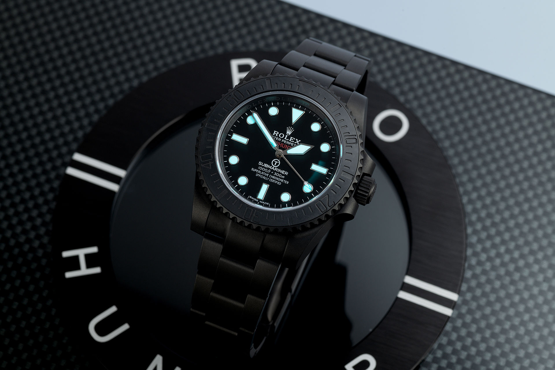 ref 114060 | One of 100 'Stealth' | Pro Hunter Submariner