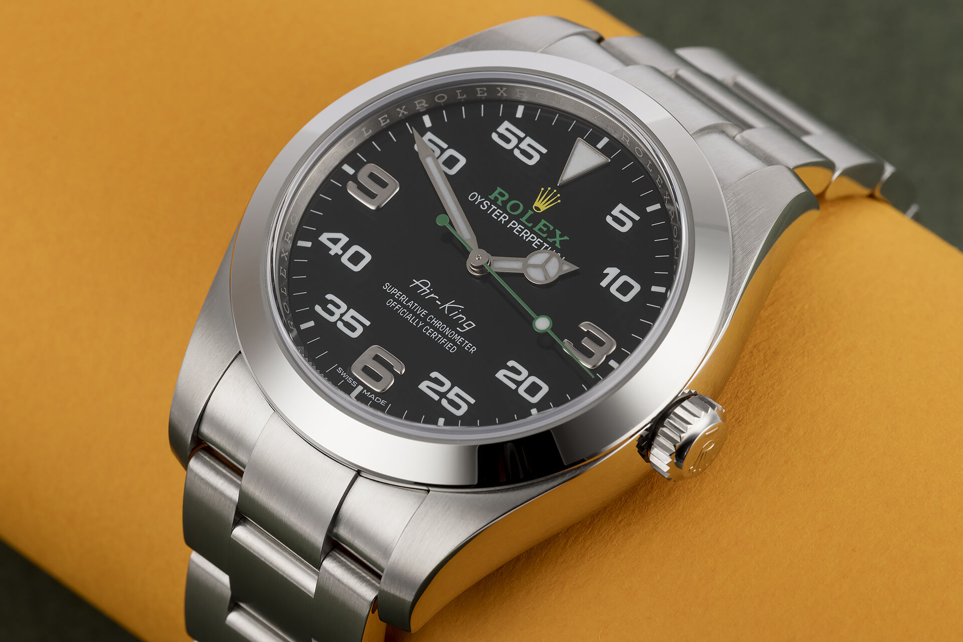 ref 116900 | '5 Year Warranty' | Rolex Air-King