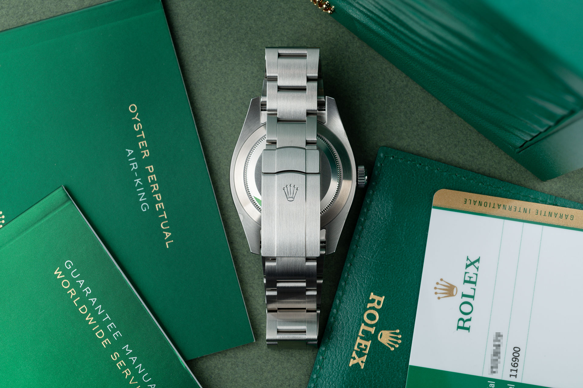 ref 116900 | Brand New Full 5-Year Rolex Warranty  | Rolex Air-King