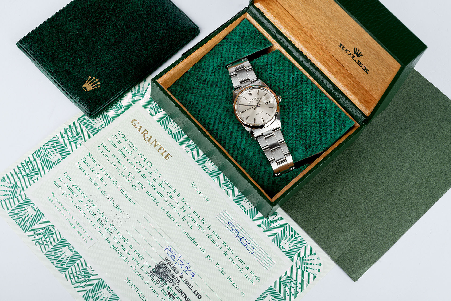 ref 5700 | Vintage 'Full Set'  | Rolex Air-King Date