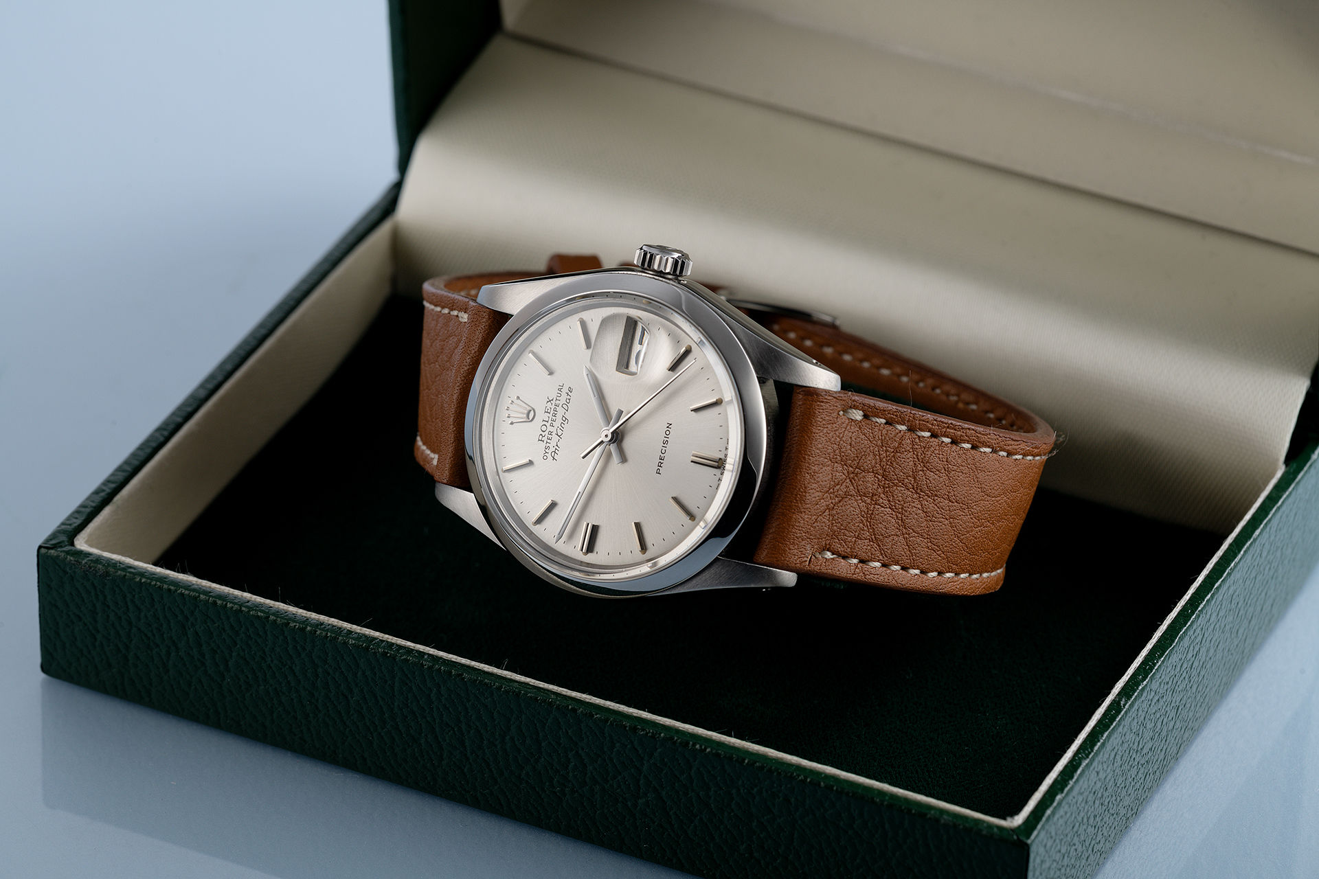 ref 5700 | Vintage 'Silver Dial' | Rolex Air-King Date