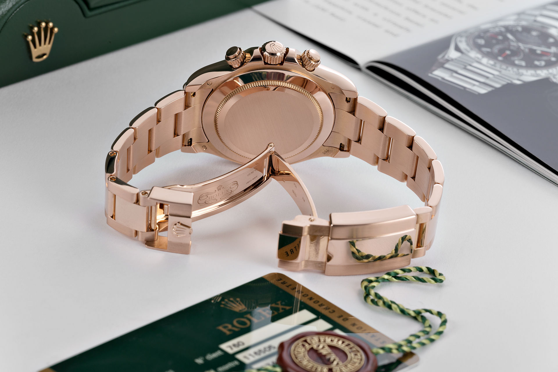 ref 116505 | 18ct Everose Gold 'Full Set' | Rolex Cosmograph Daytona