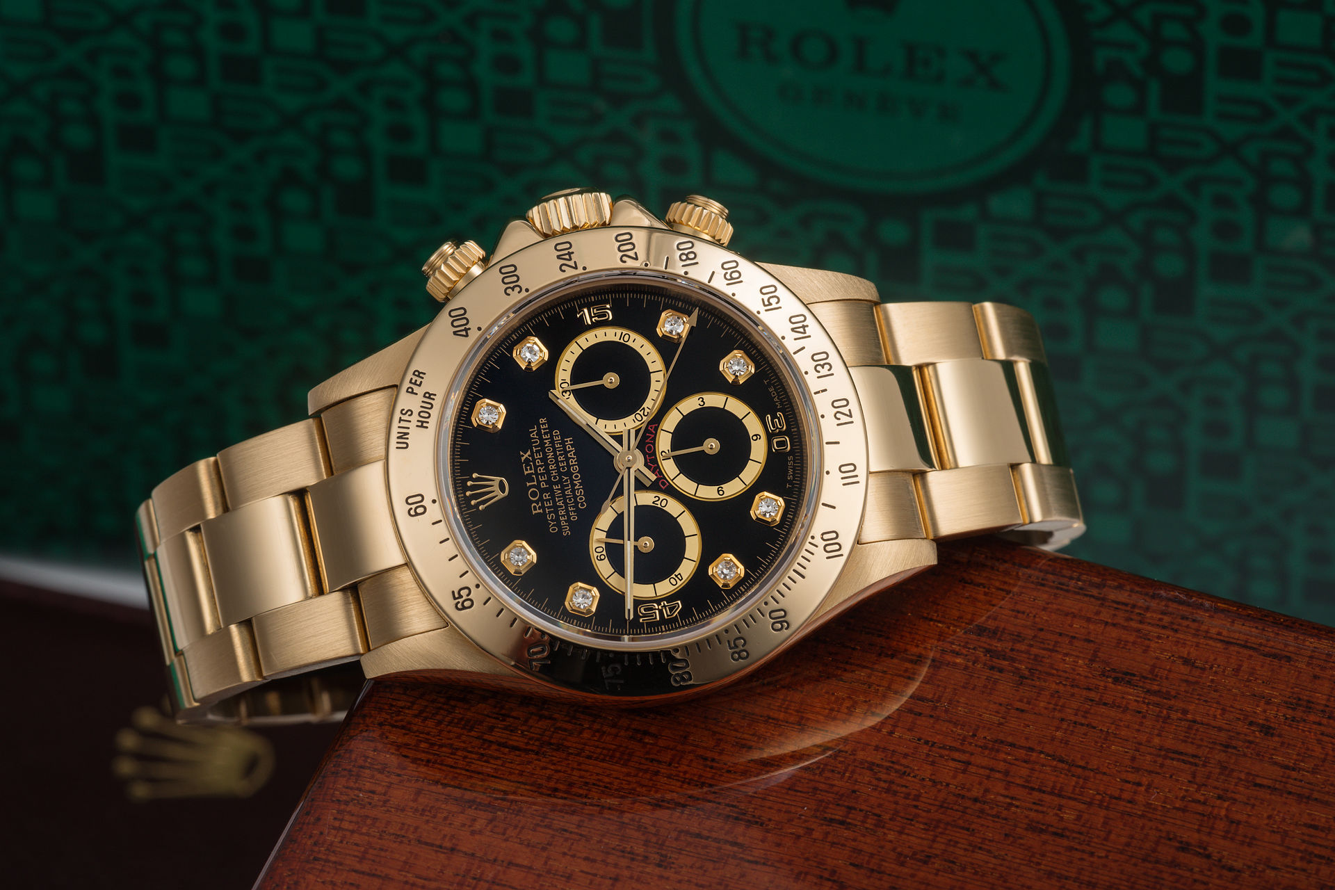 ref 16528 | 18ct Gold Mark IIl 'Full Set' | Rolex Cosmograph Daytona